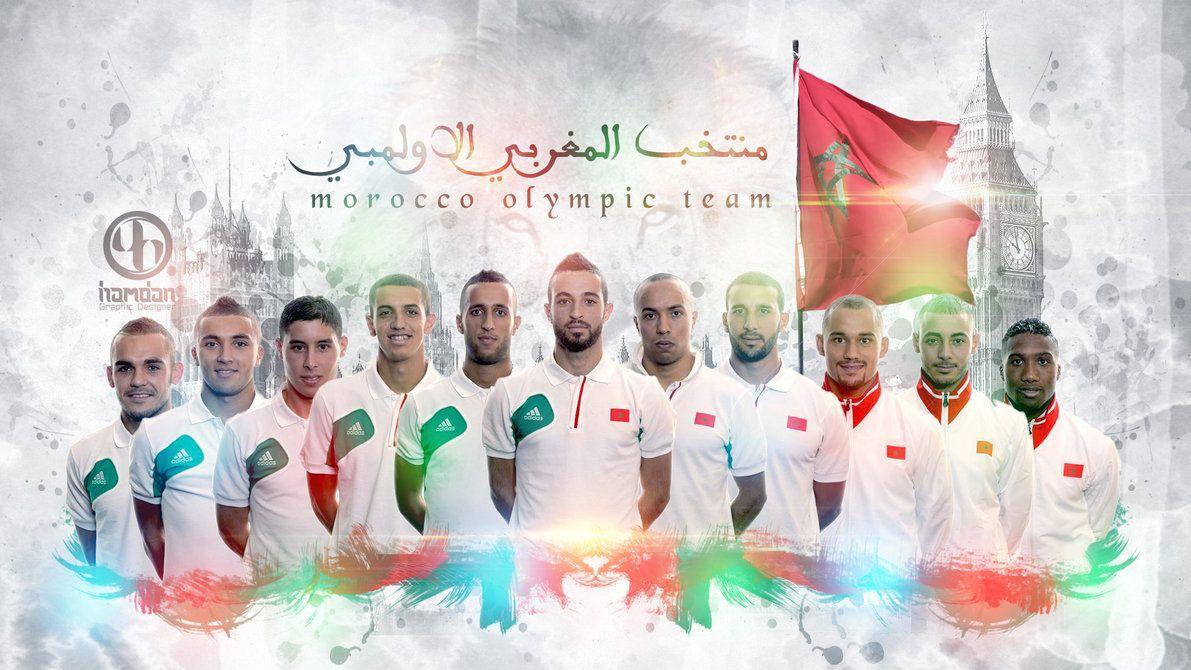 Morocco National Football Team Teams Background