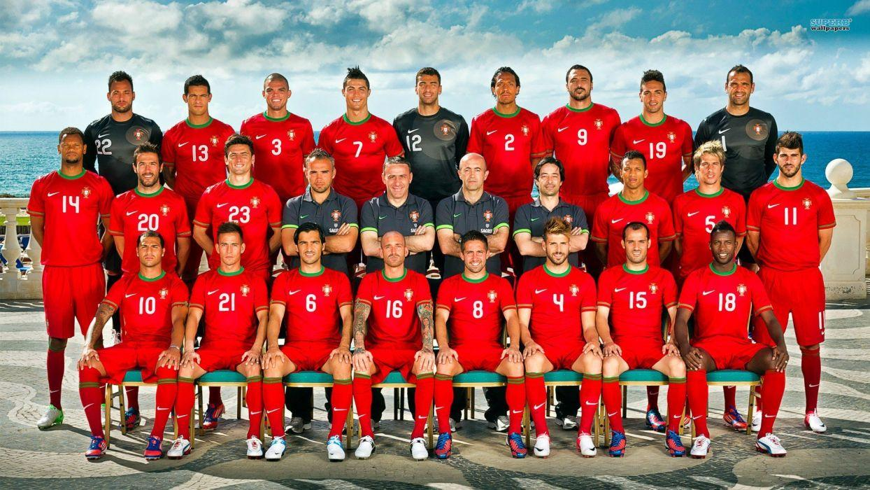 Portugal National Football Team Zoom Background 2