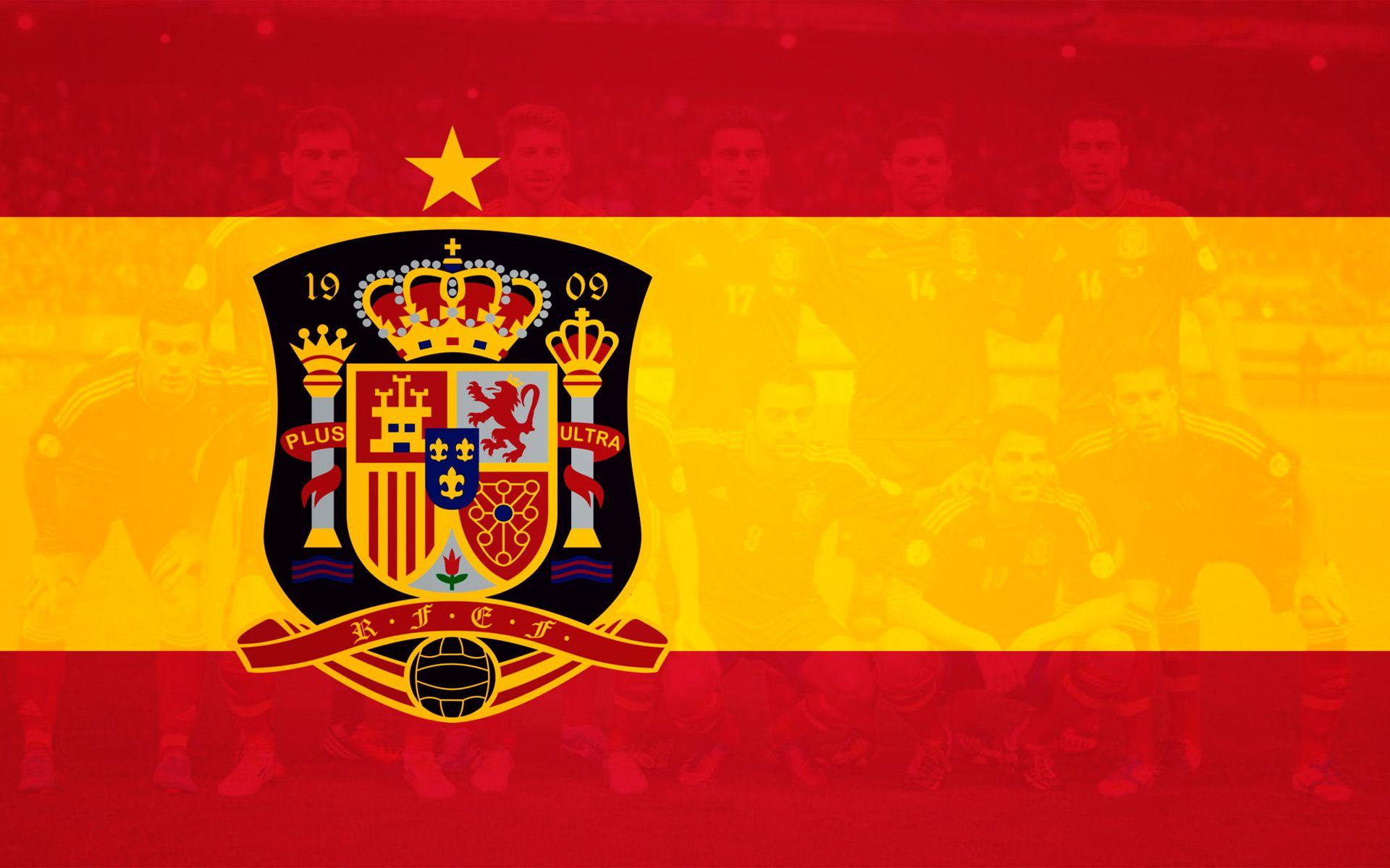 Spain national football Teams background 2