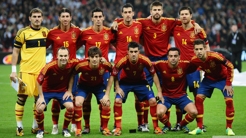 Spain national football Teams background 7