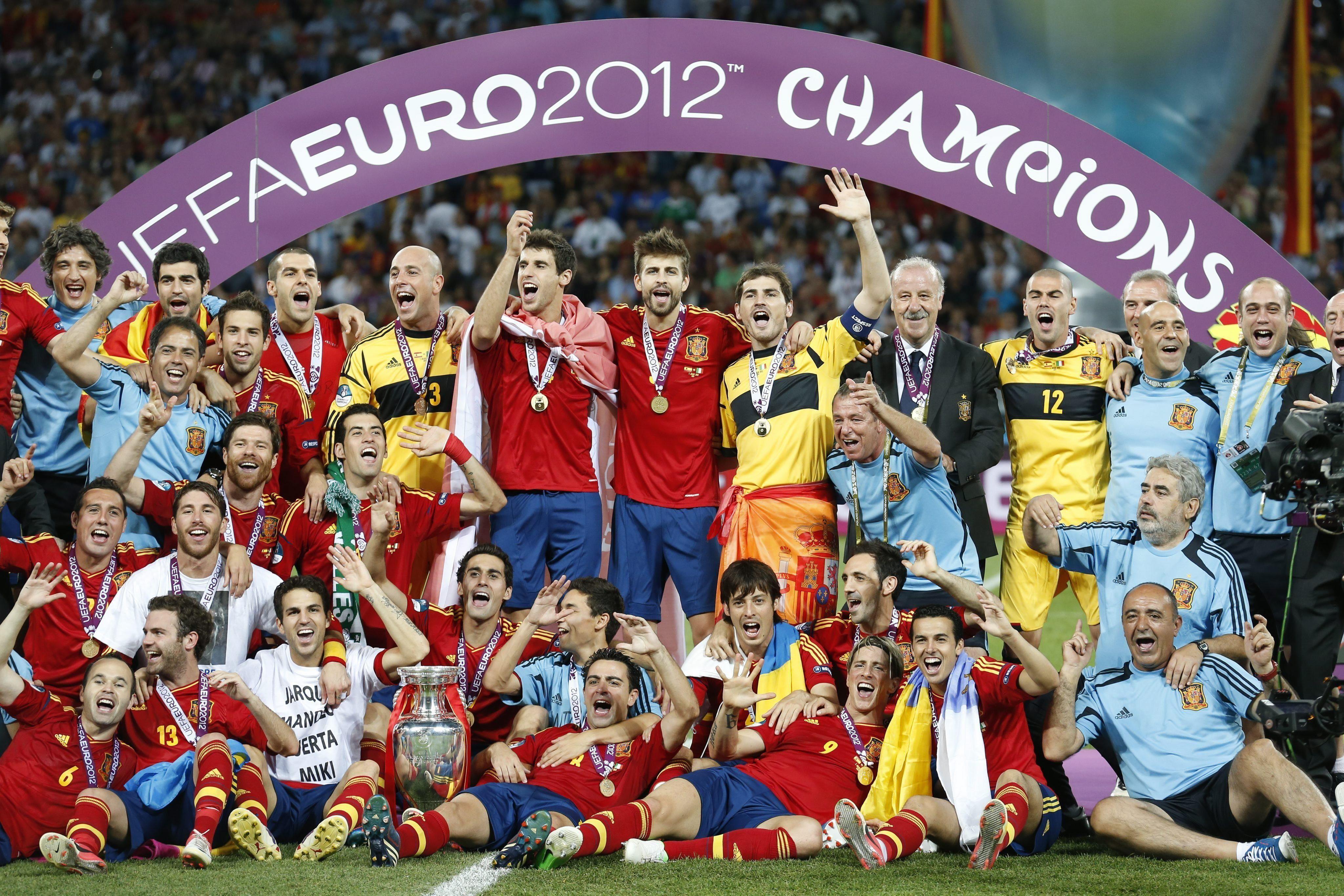 Spain national football Teams background 10