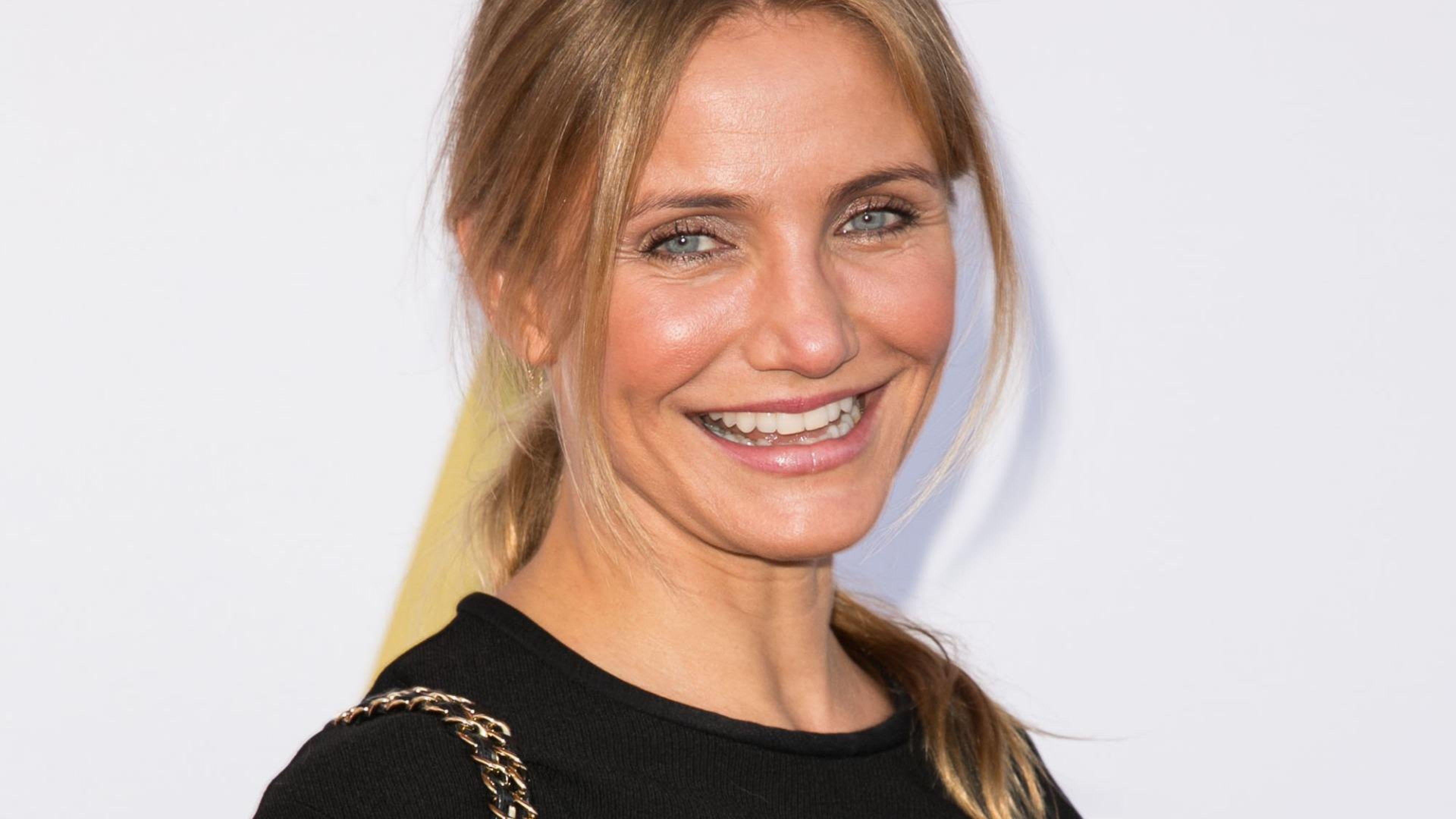 Cameron Diaz Celebrity Widescreen Wallpaper 55477 3840x2160 px ...