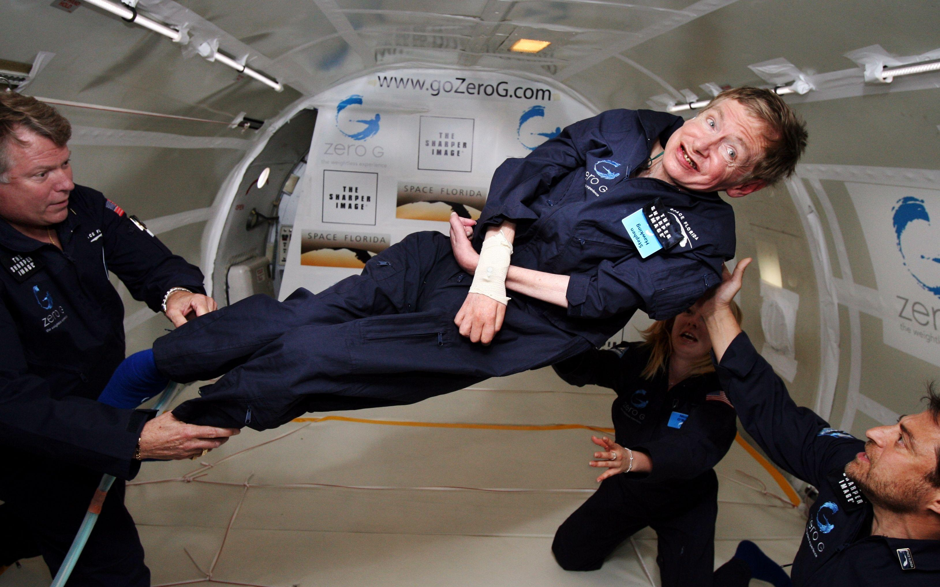 stephen hawking reduced gravity aircraft 3257x2036 wallpapers High