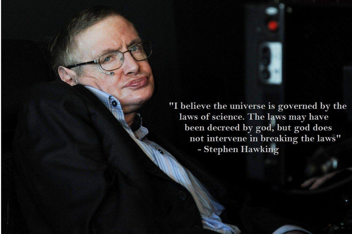 Amazing & Motivational Quotes Of Stephen Hawking Which Can Change