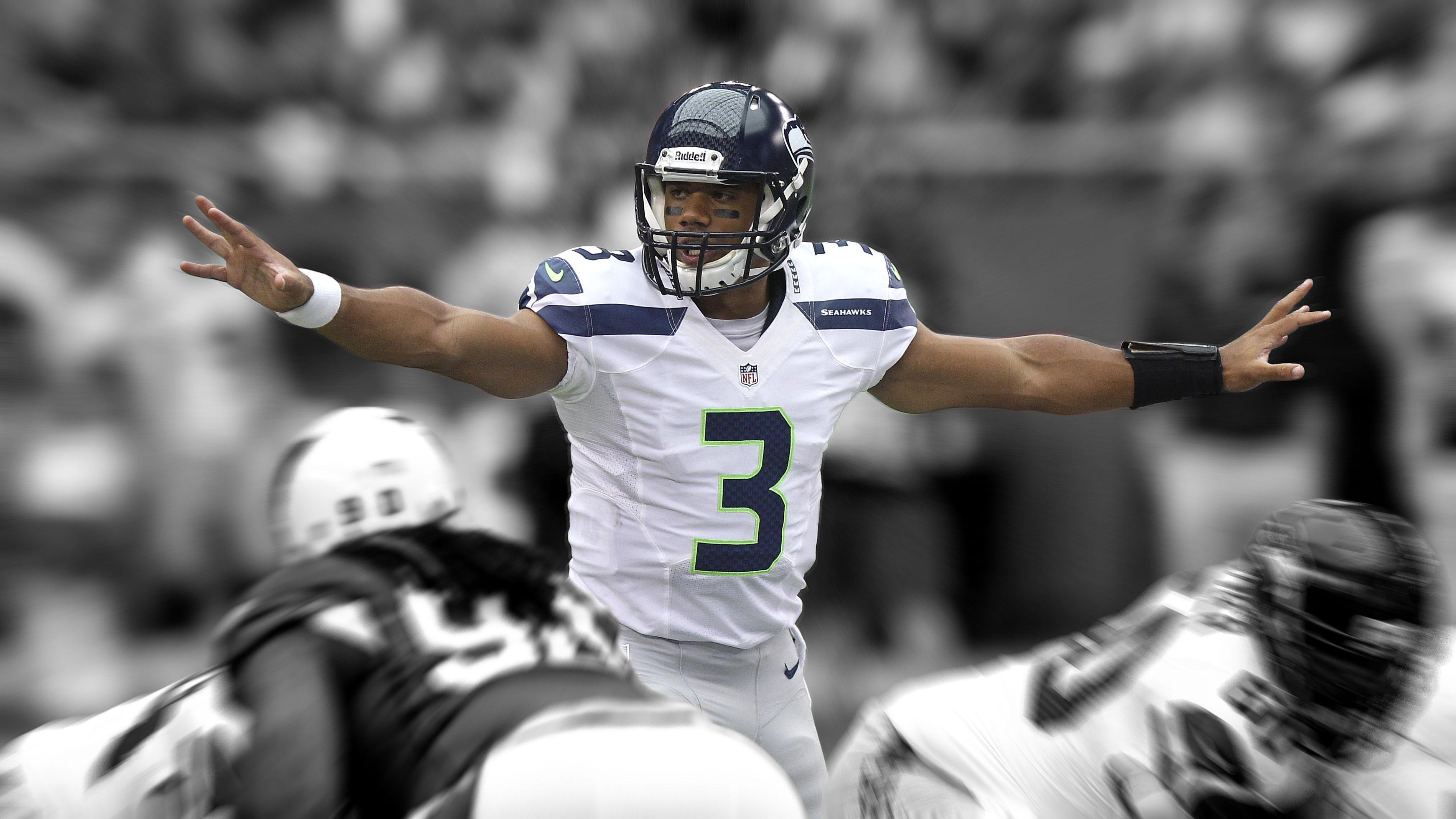 Russell Wilson Seattle Seahawks Wallpapers Wallpaper Cave