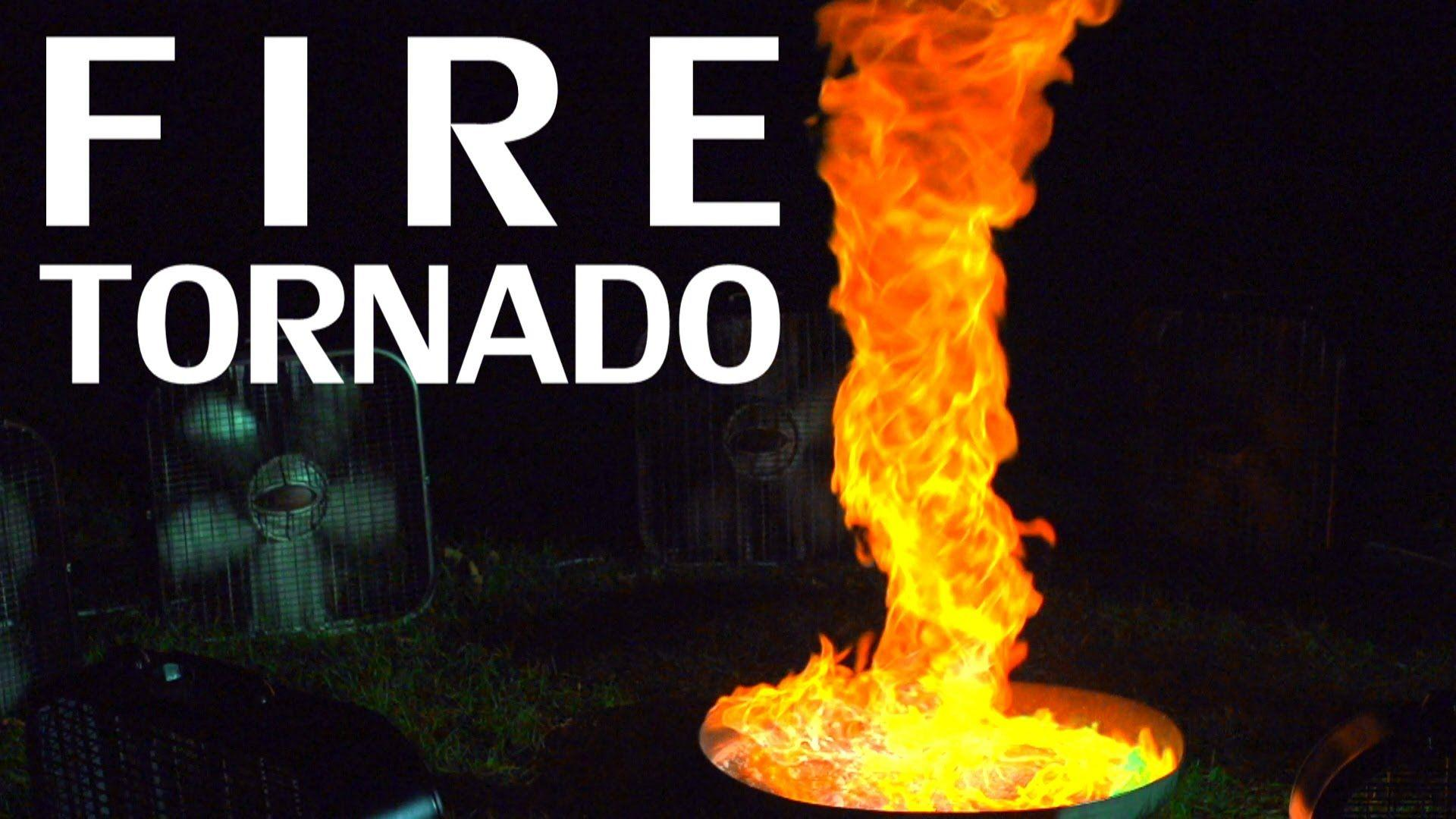 Building A Fire Tornado + Flame Colorant & Slow Motion