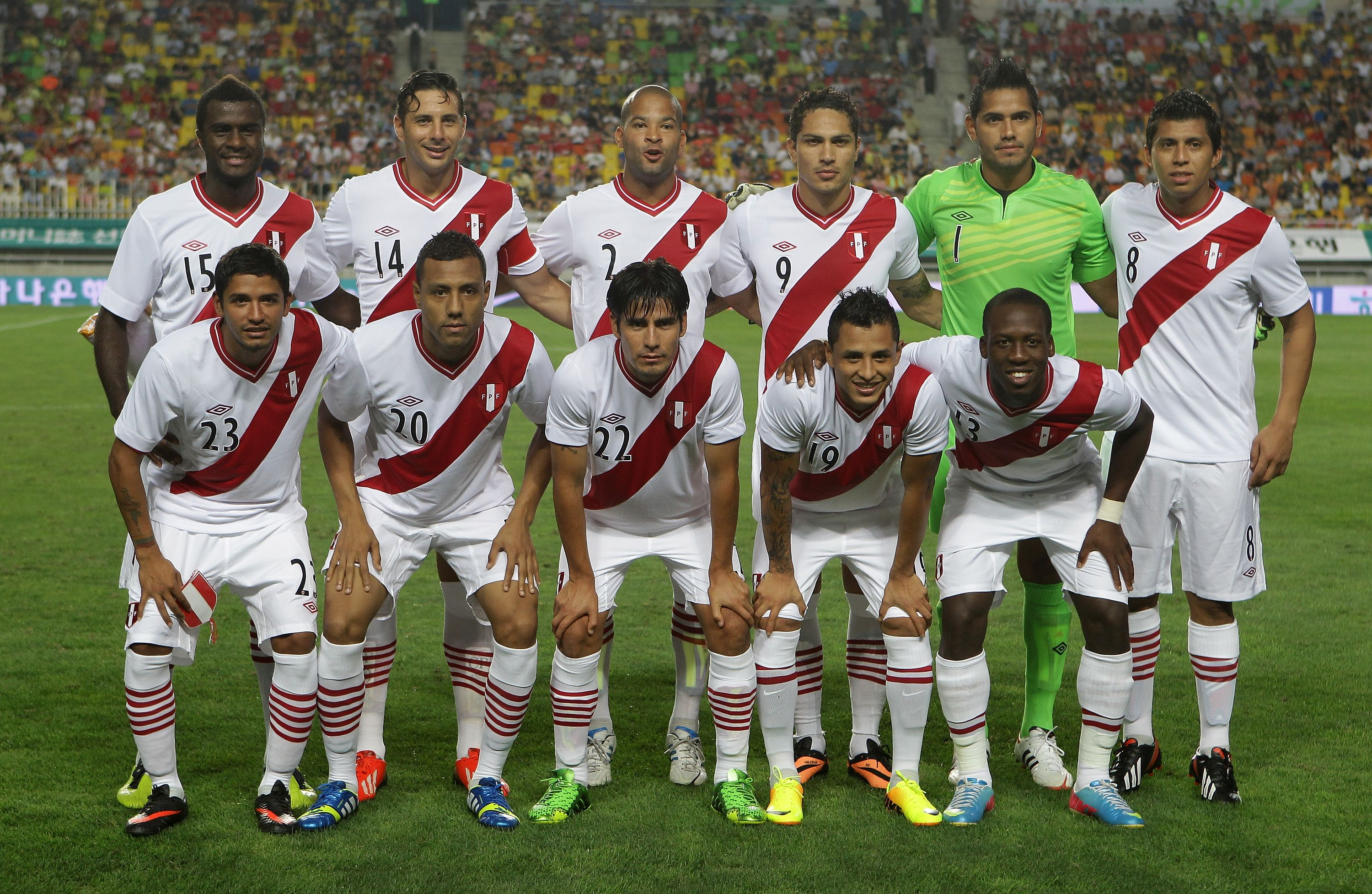 Daily Life: This image is of the Peru Football Team of 2016. There