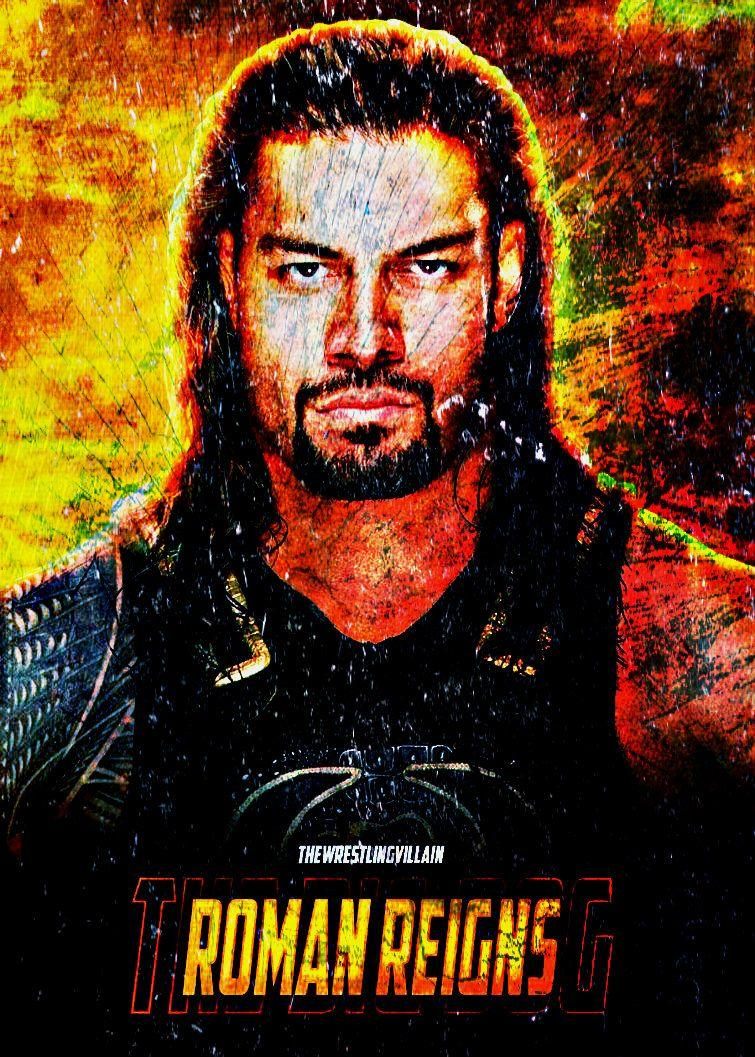 Roman Reigns 'THE BIG DOG' 2017 Custom Wallpapers by