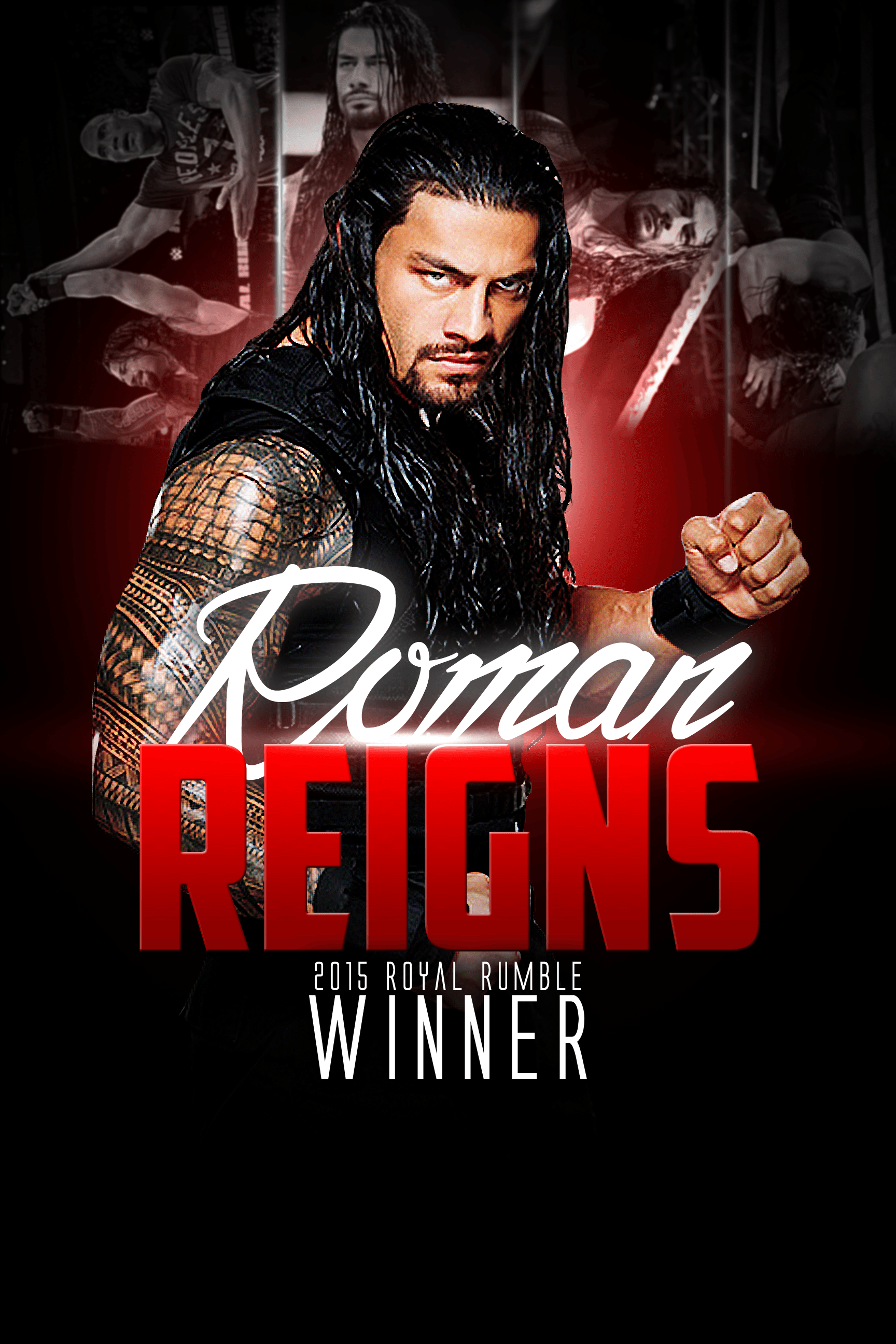 Roman Reigns Wallpapers by YosifMohammed