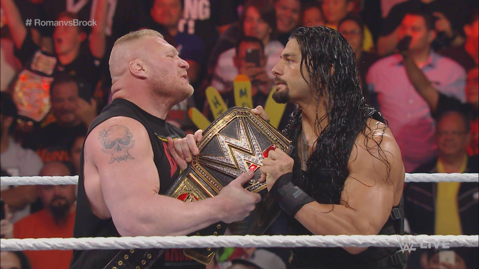 Jim Ross Likes The Idea Of Roman Reigns And Brock Lesnar Facing