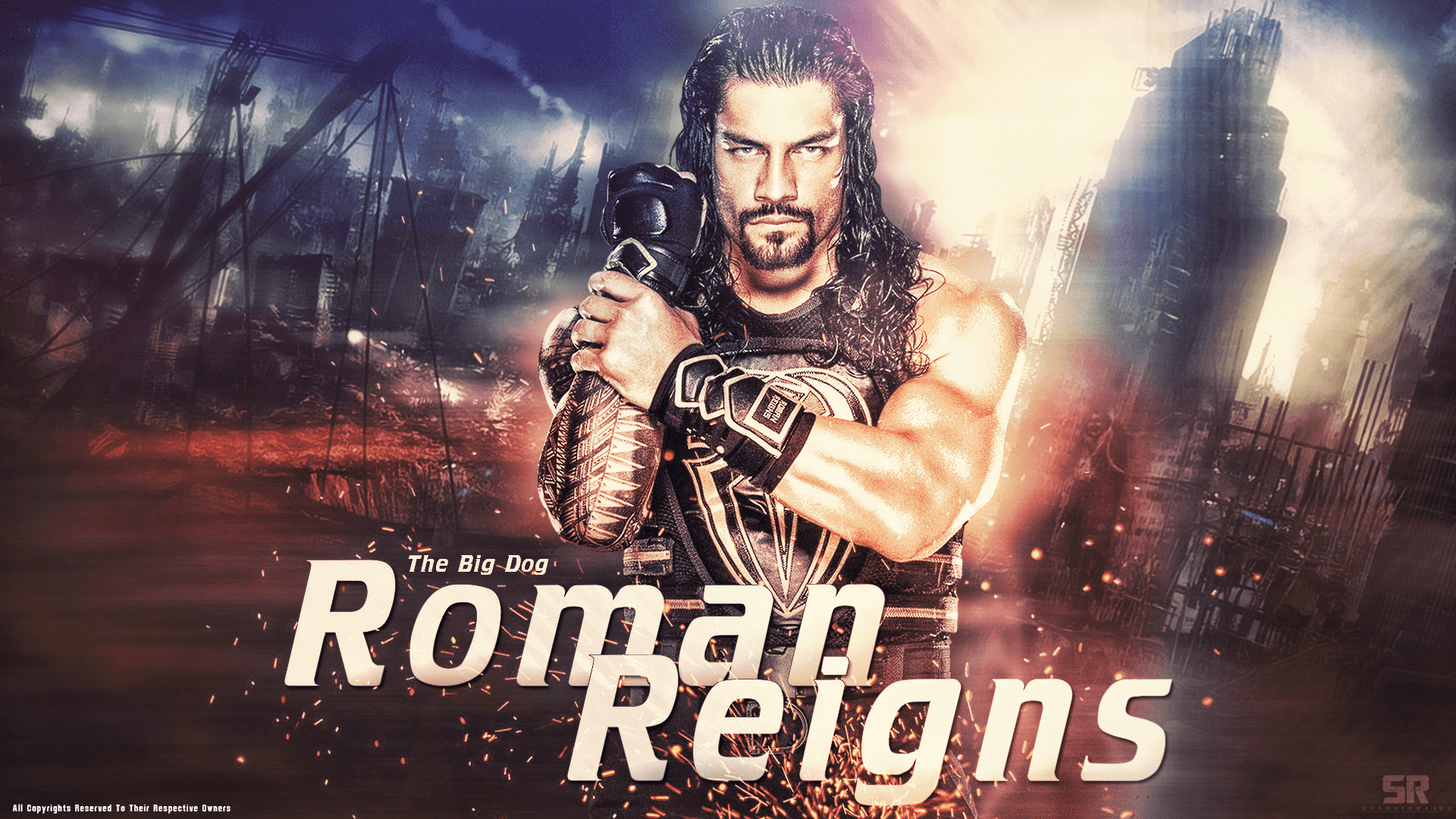Roman Reigns Wallpapers 2016 by Subinraj