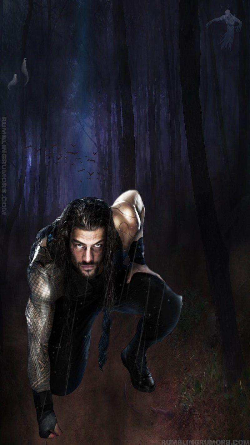 Roman Reigns Halloween Night Mobile HD Wallpaper. – RumblingRumors
