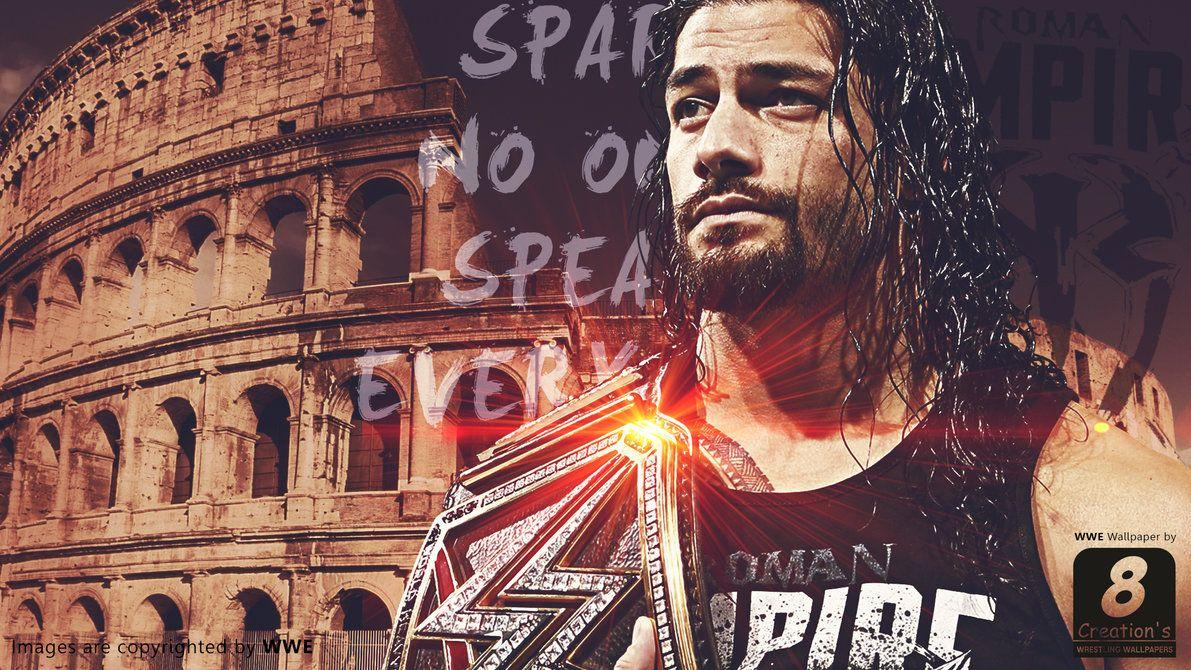 WWE Roman Reigns Wallpapers by Arunraj1791