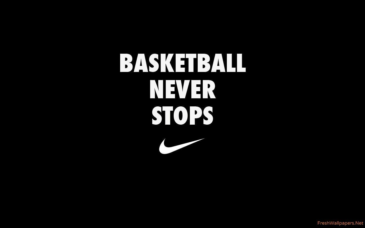 Basketball Never Stops wallpapers