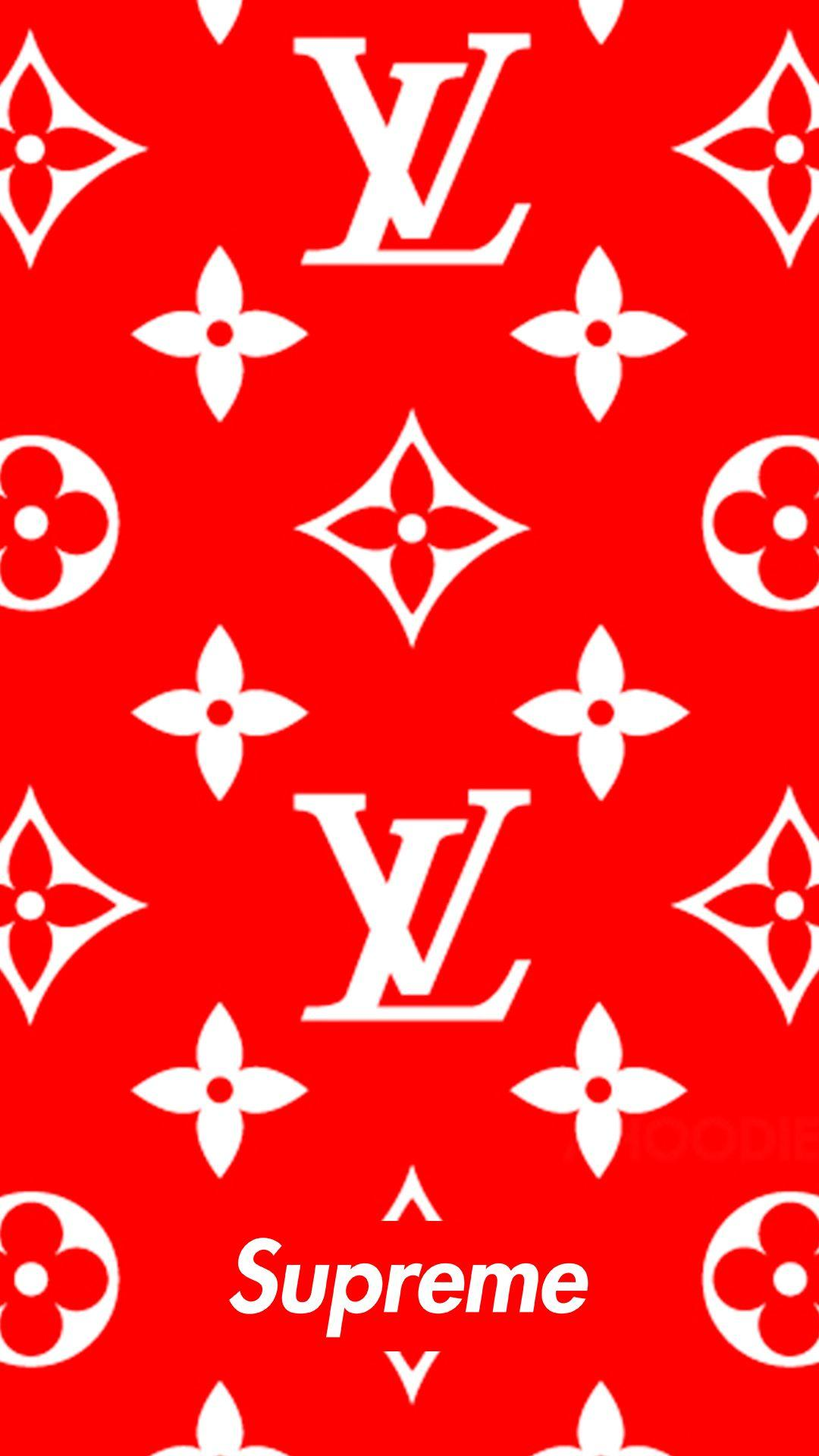 LV x Supreme | lB⅁ | Pinterest | Supreme, Wallpaper and Supreme .