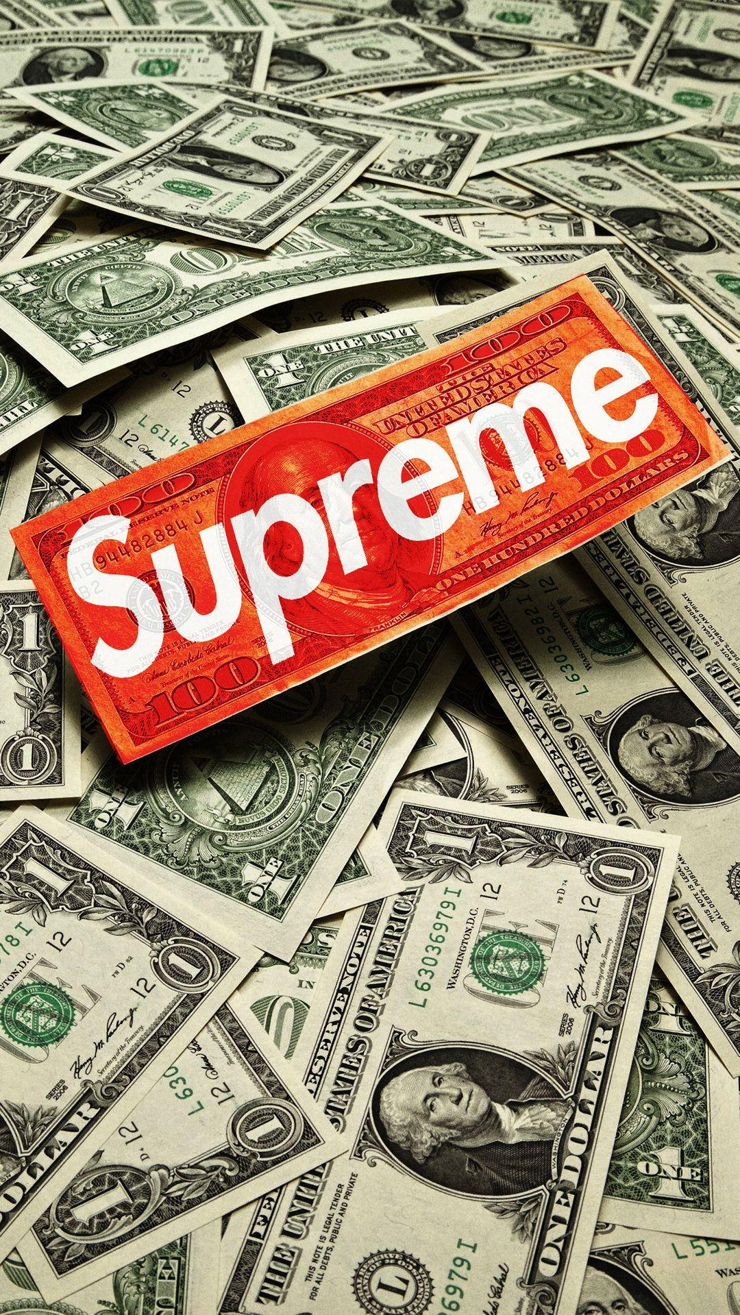 Supreme iPhone Wallpapers - Wallpaper Cave