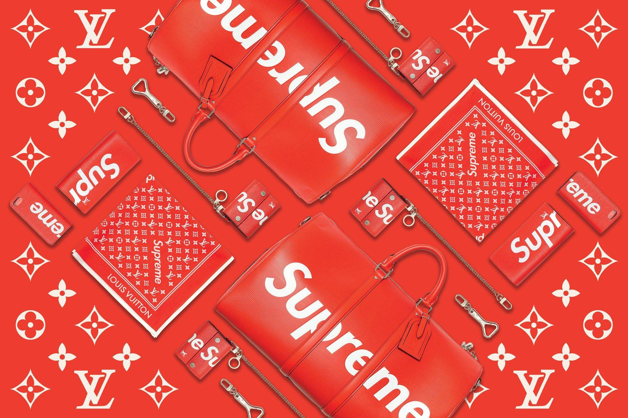 Best Supreme Louis Vuitton Wallpaper