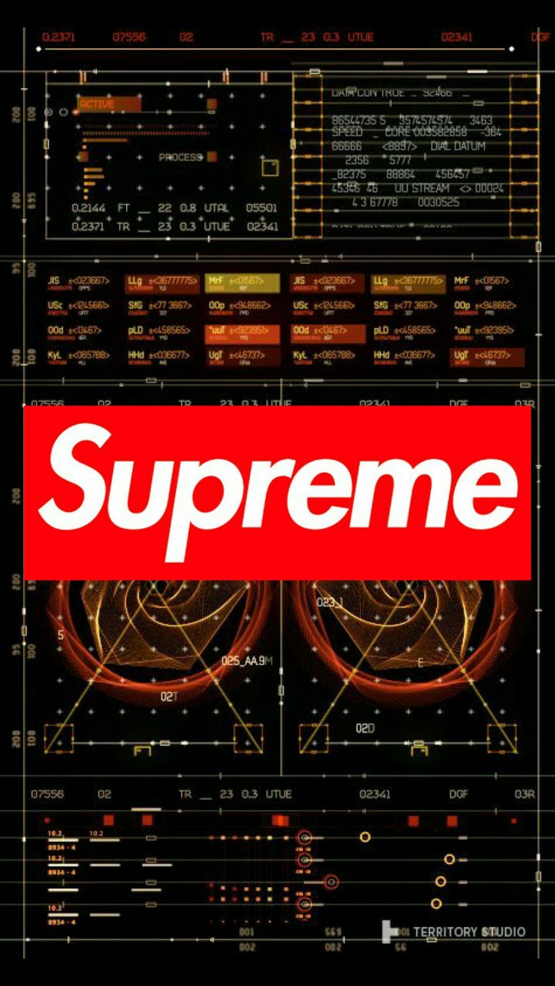 Supreme Iphone Wallpapers Wallpaper Cave