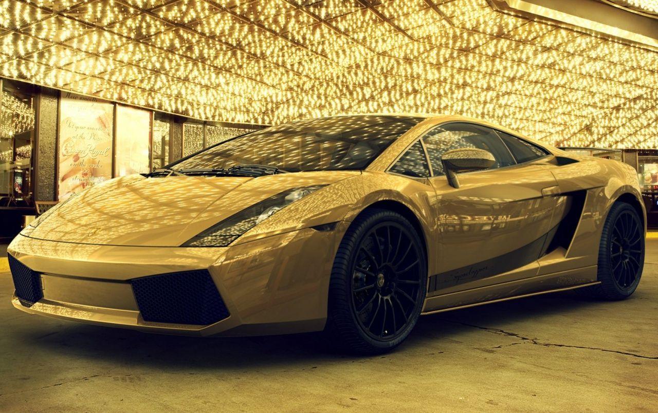 Gold Lamborghini Wallpapers - Wallpaper Cave