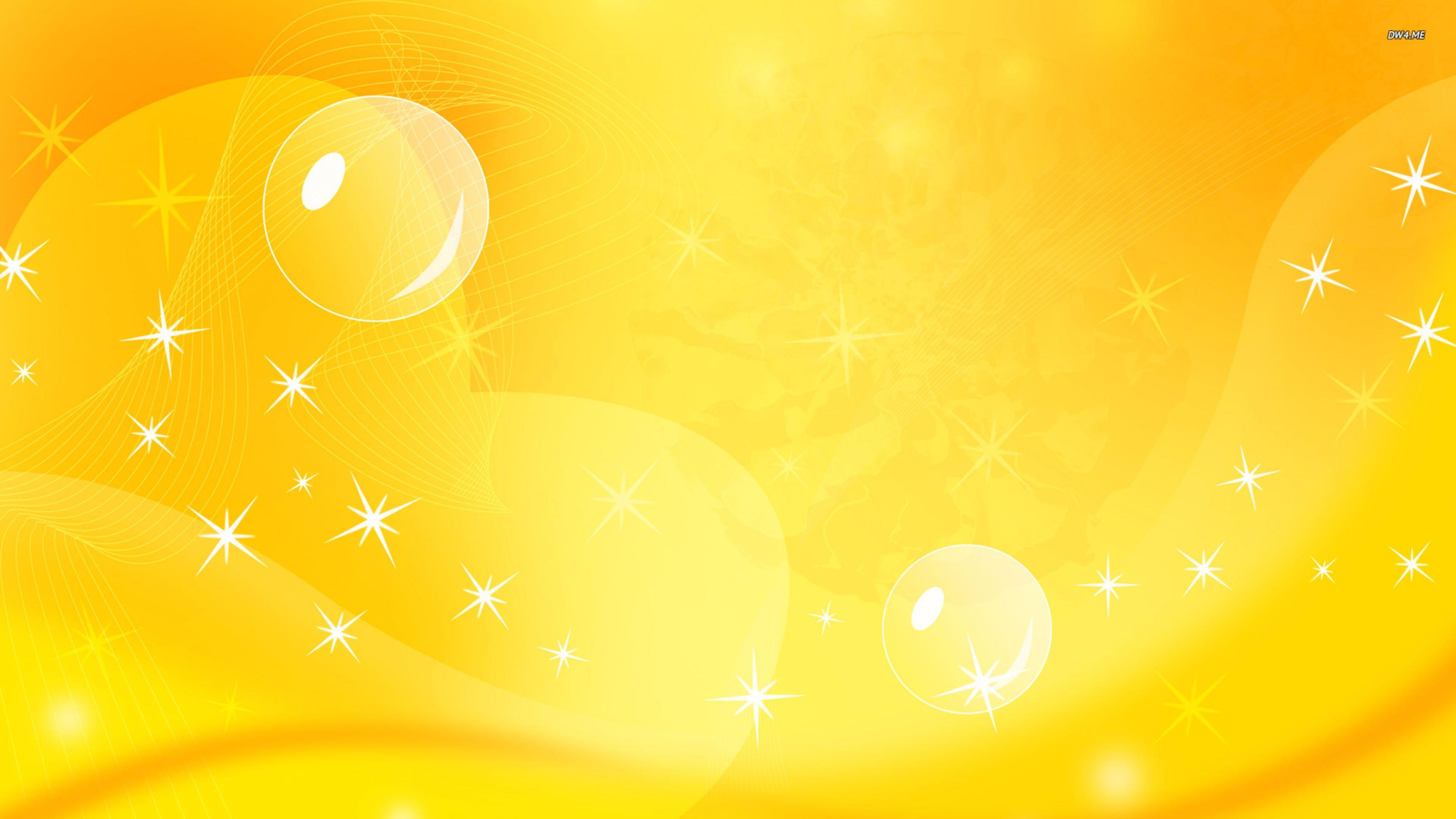 Yellow Abstract Wallpapers Wallpaper Cave