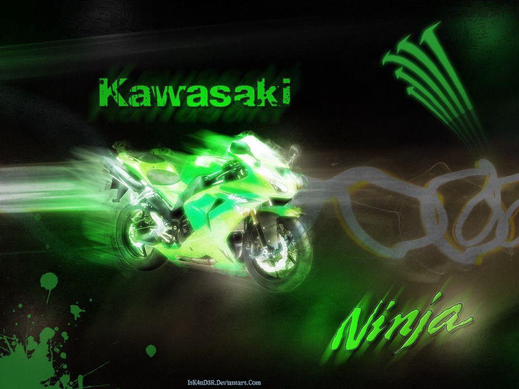Kawasaki Ninja Logo Wallpaper