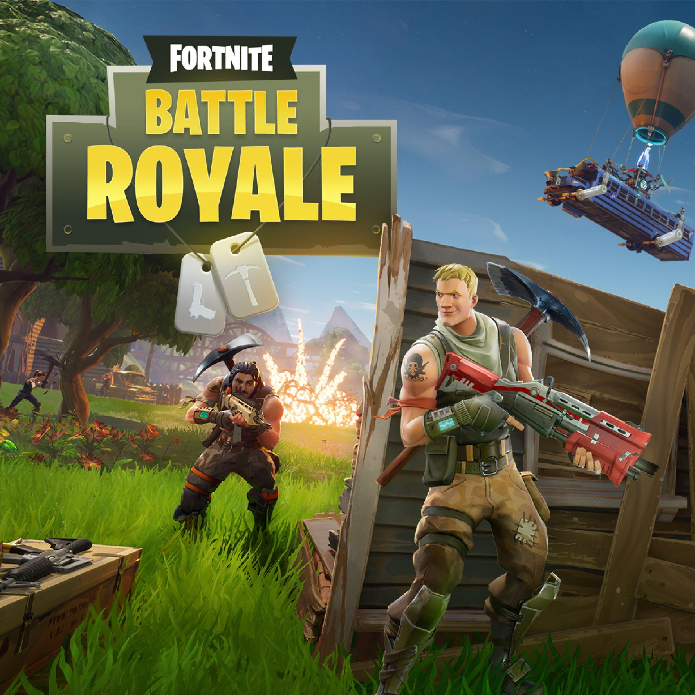 Download Fortnite Battle Royale 2048x1152 Resolution, Full HD Wallpapers