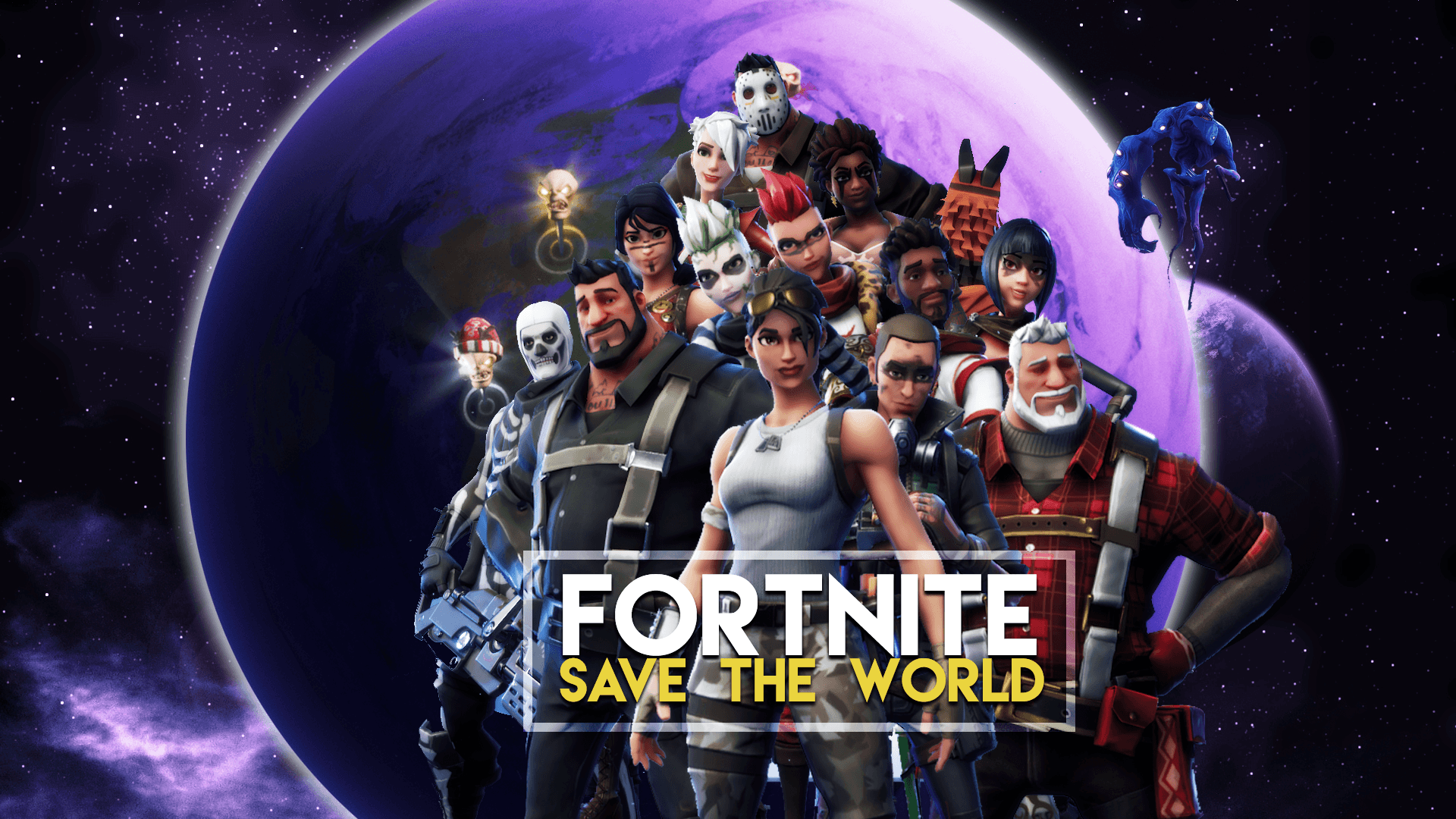 Image result for fortnite save the world wallpaper