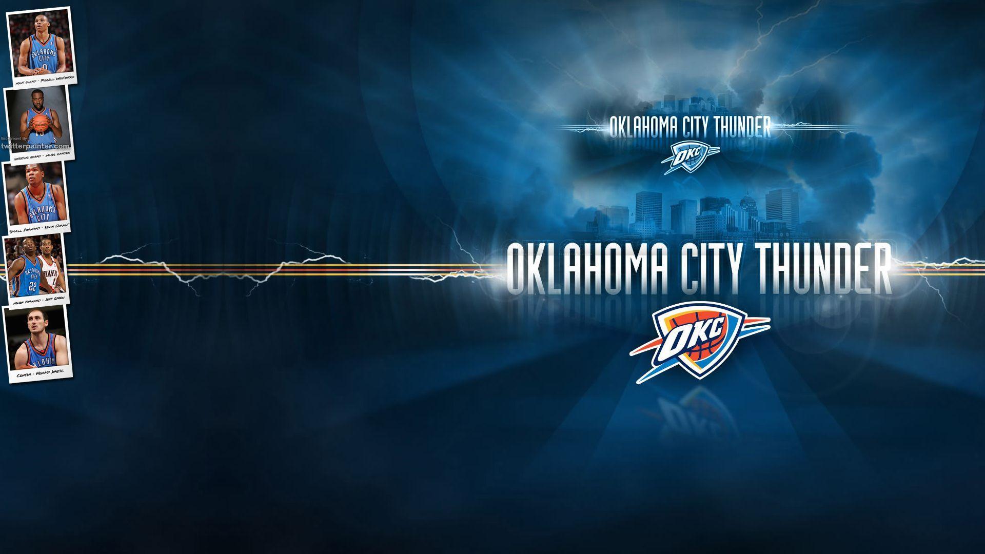 Oklahoma City Thunder Basketball Wallpaper