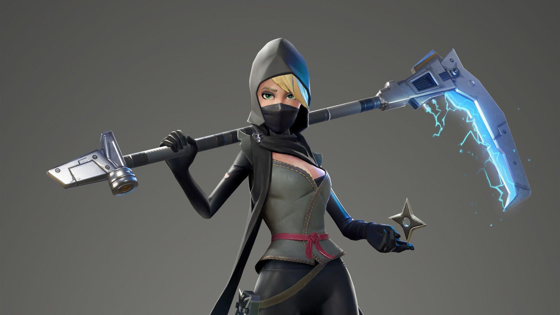 Fortnite Female Ninja, HD Games, 4k Wallpapers, Images, Backgrounds ...