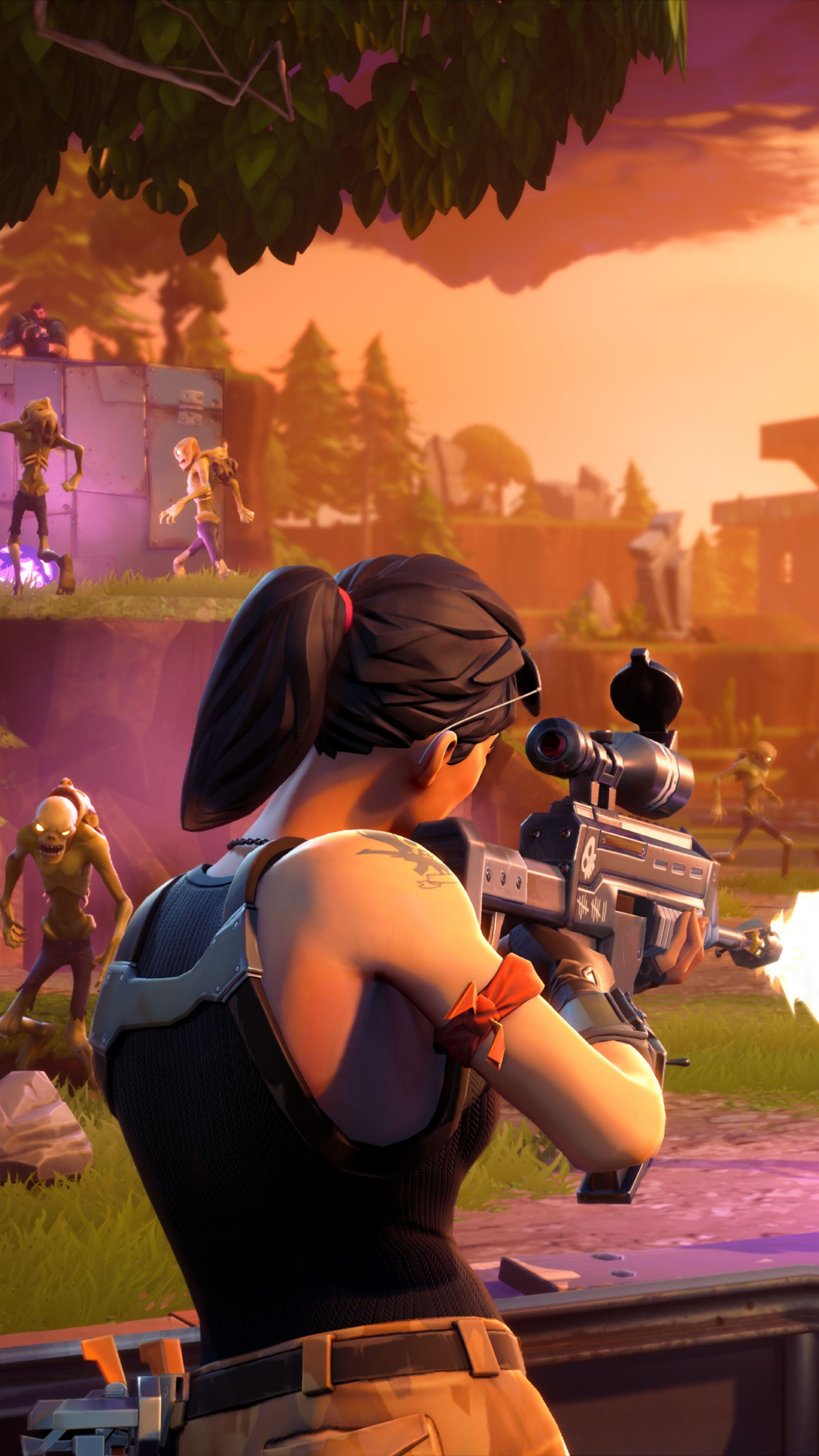 Download Fortnite Ps4 Gameplay 2160x3840 Resolution, HD 8K Wallpapers