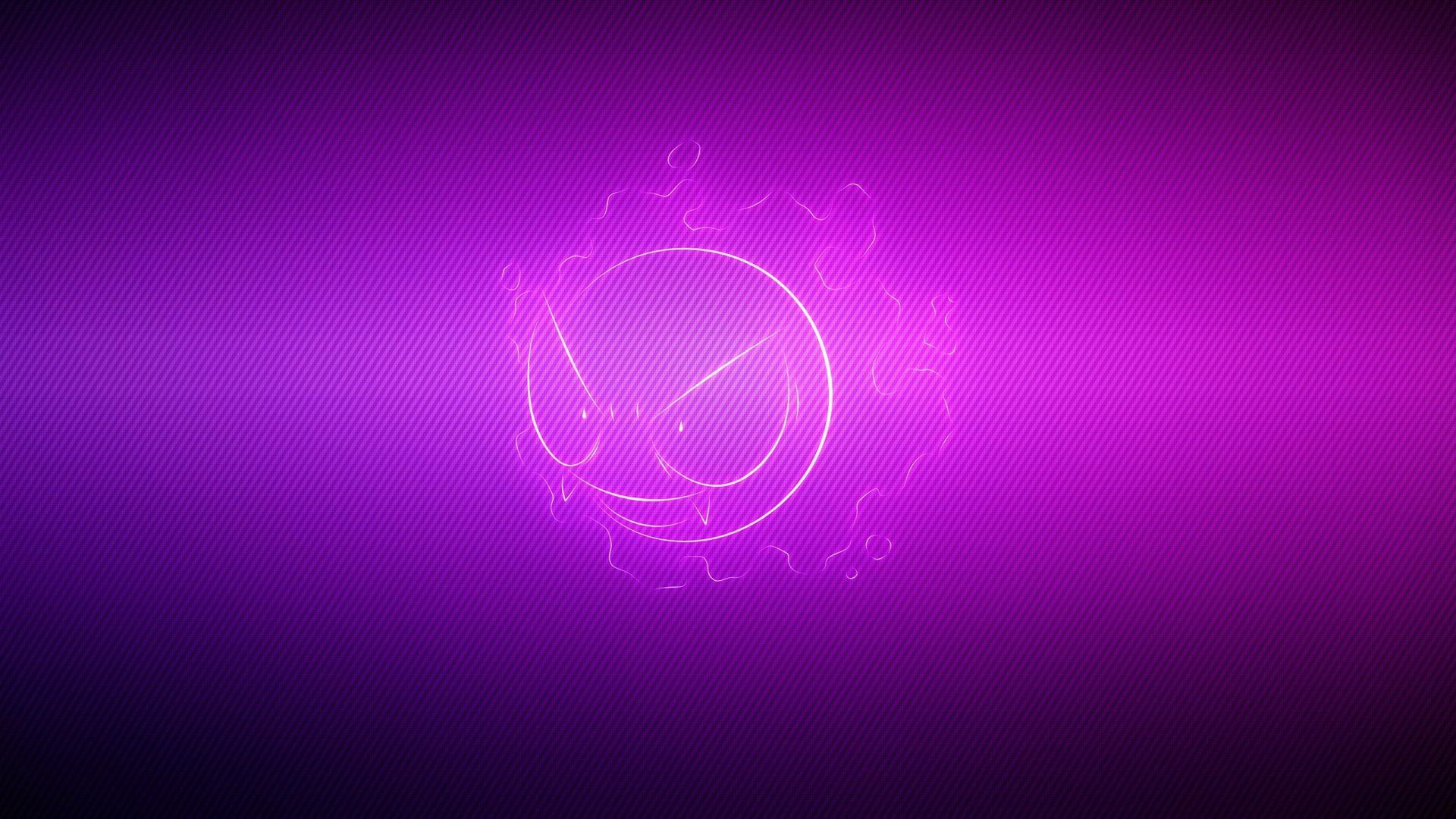 Gastly Pokemon Purple Light HD Wallpaper - Free HD wallpapers ...