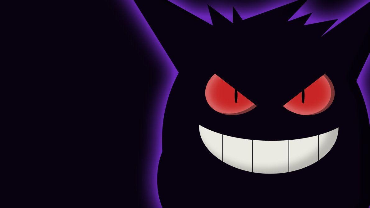 Gengar Wallpaper by w3ph on DeviantArt