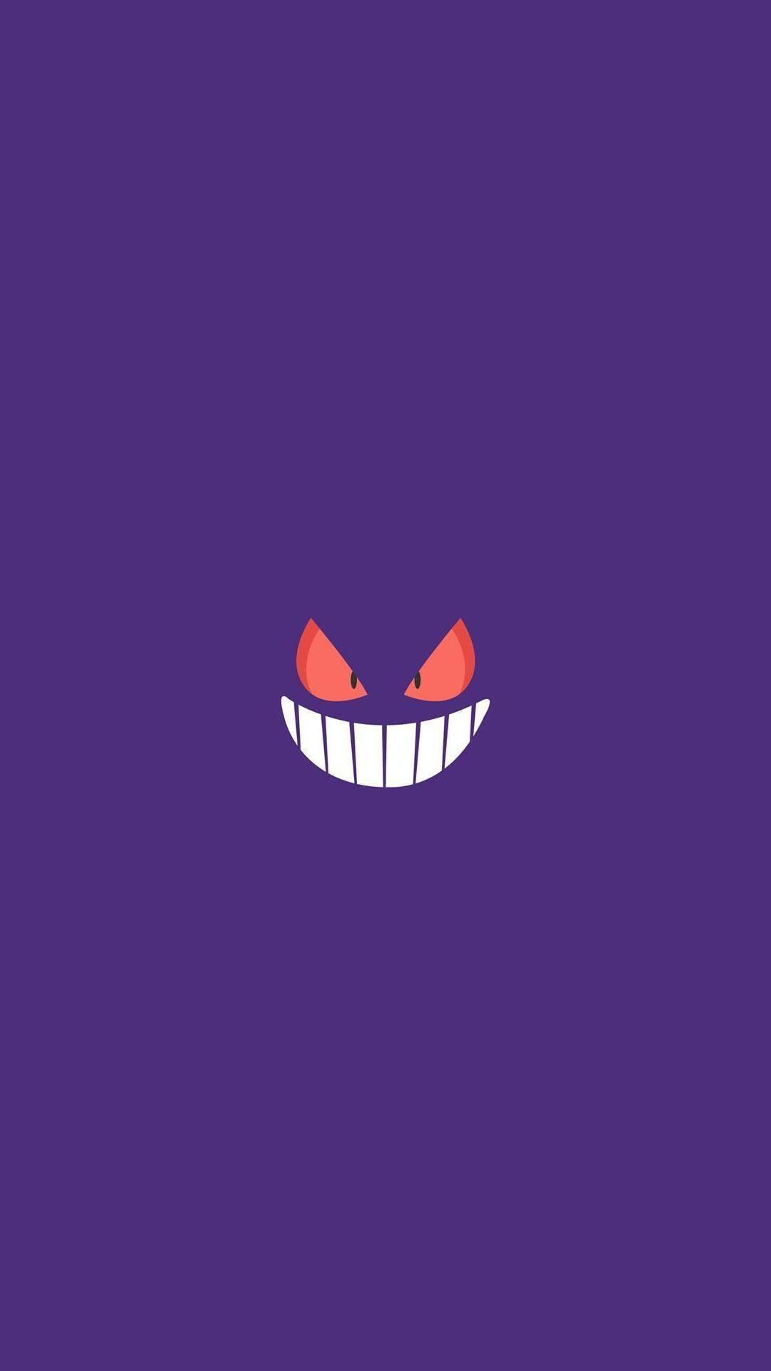 Gengar Pokemon Character iPhone 6+ HD Wallpaper HD - Free Download ...