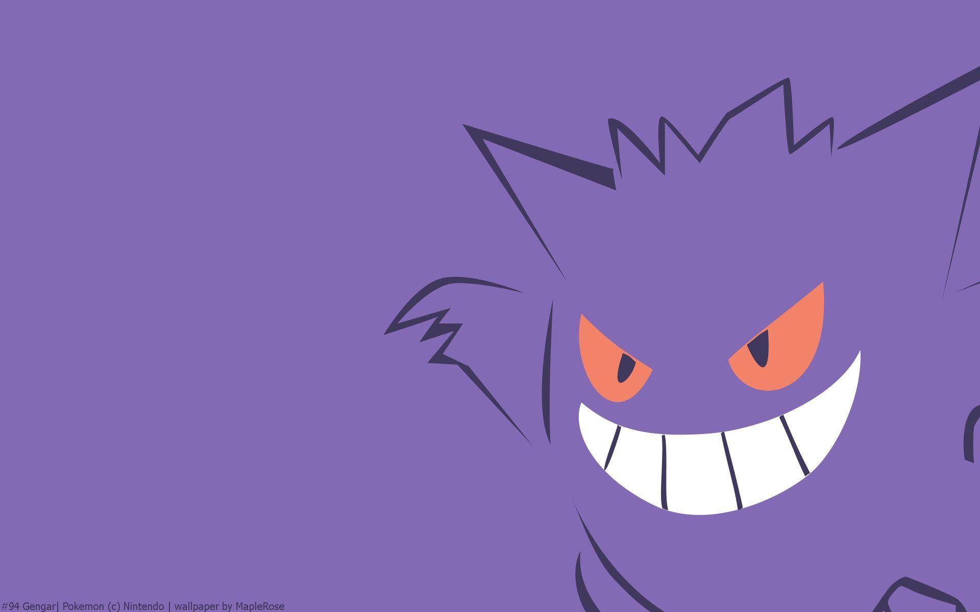 Gengar Pokemon HD Wallpaper - Free HD wallpapers, Iphone, Samsung ...