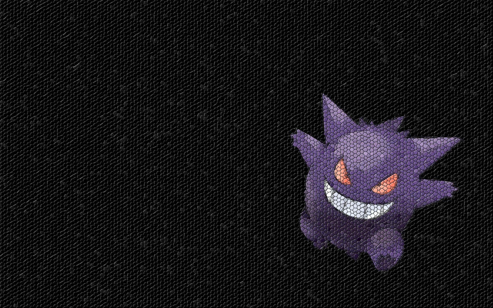 pokemon gengar mosaic 1920x1200 wallpaper High Quality Wallpapers ...