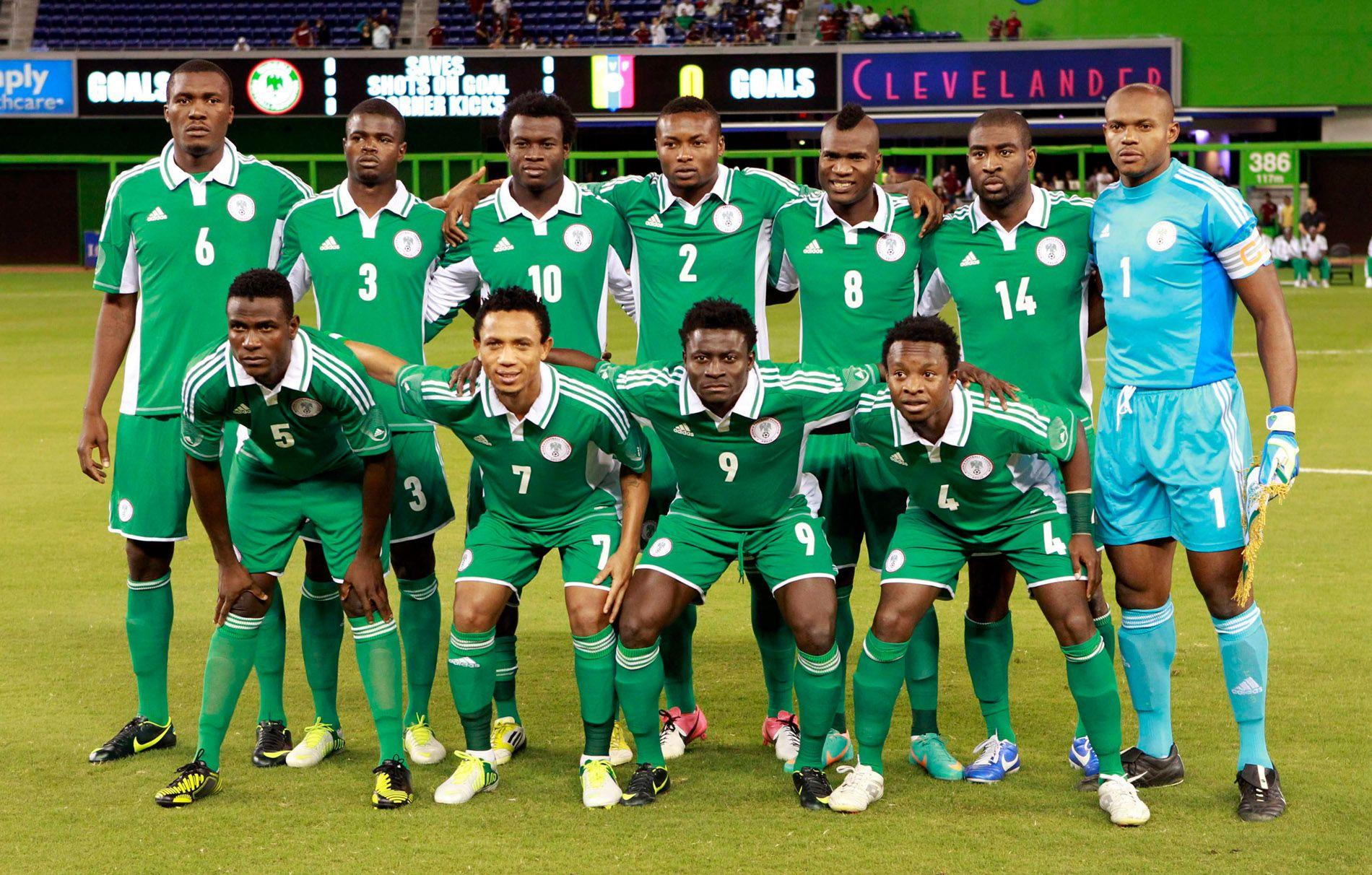 Nigeria National Football Team Teams Backgrounds