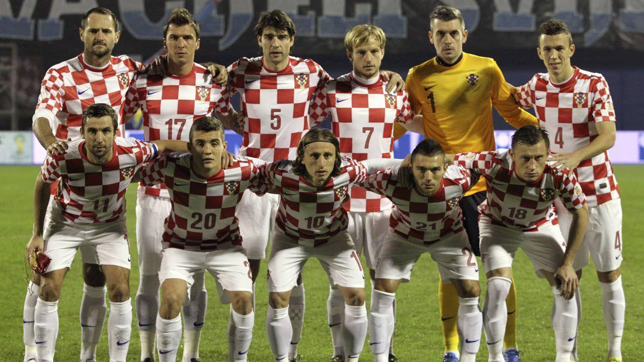 Croatia's football team - The Waterboy Report
