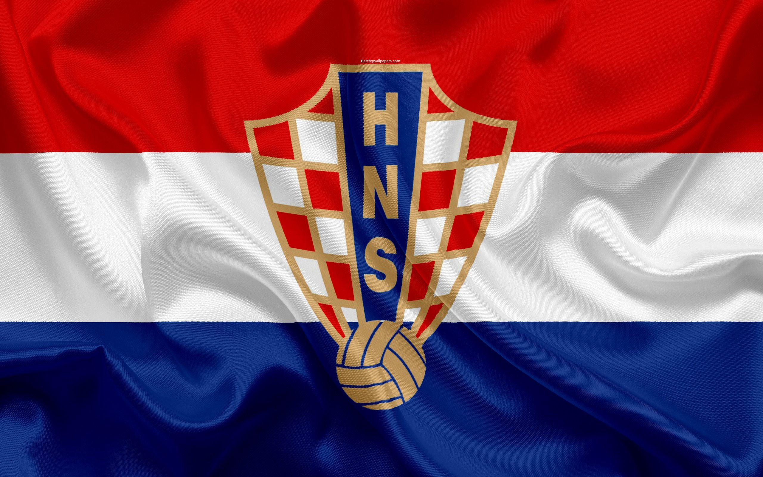 Download wallpapers Croatia national football team, emblem, logo ...