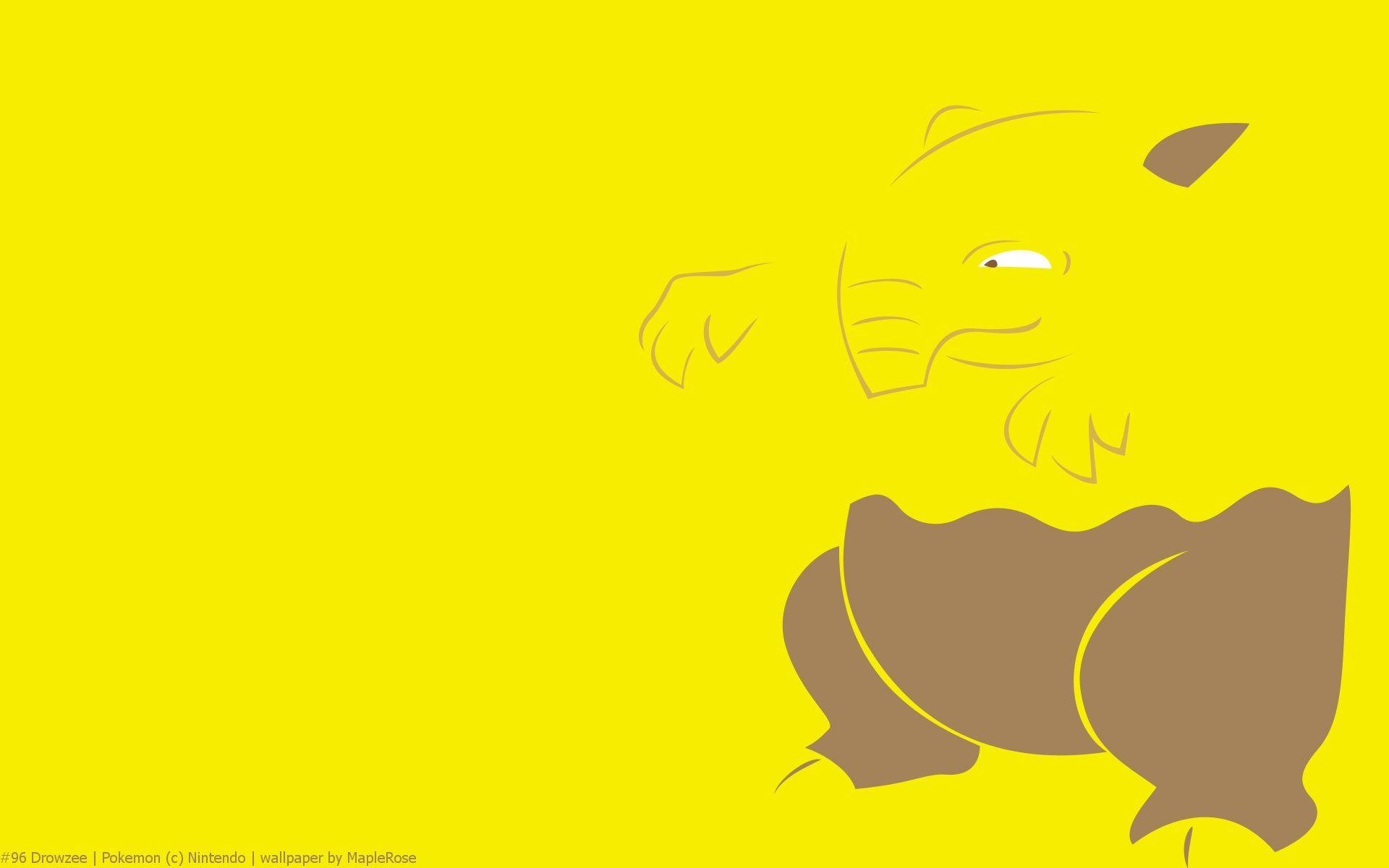 Drowzee Pokemon HD Wallpaper - Free HD wallpapers, Iphone, Samsung ...