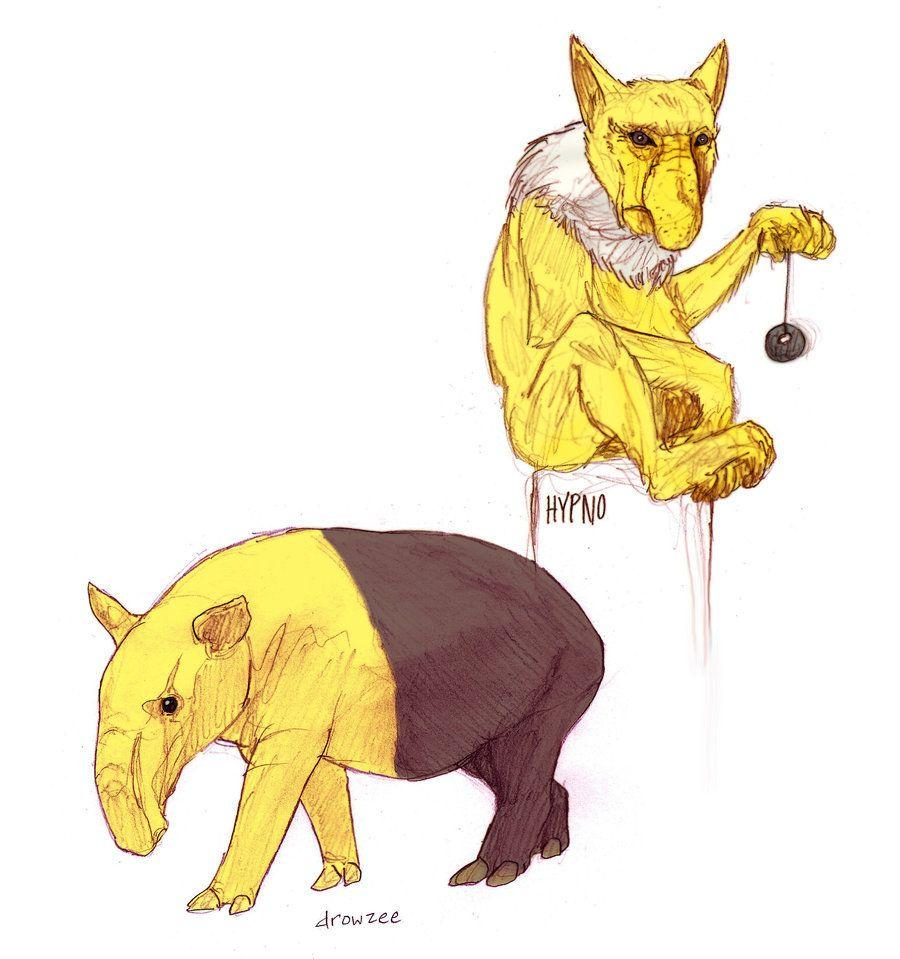 Drowzee and Hypno by RtRadke on DeviantArt