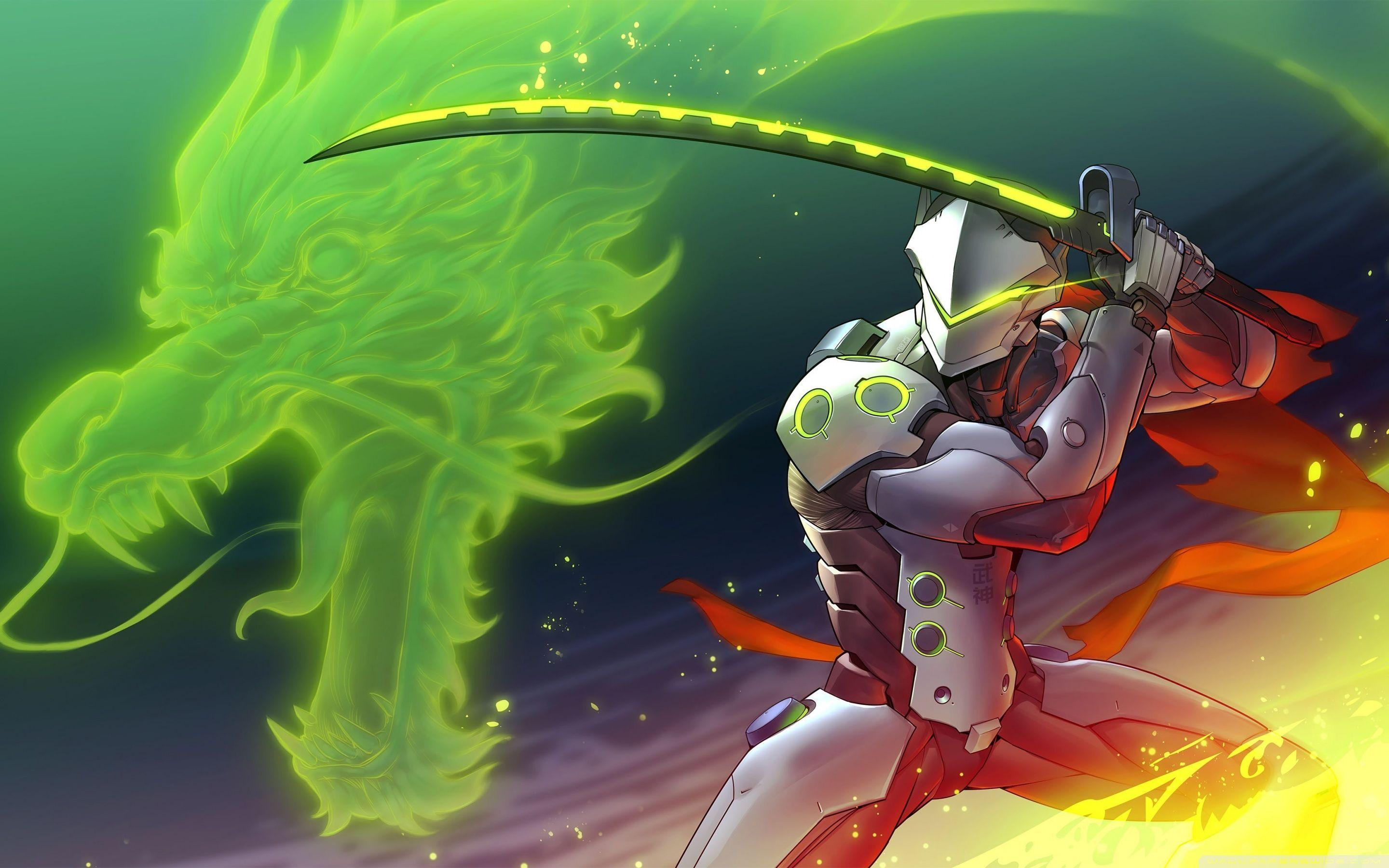 Overwatch Genji Wallpapers - Wallpaper Cave