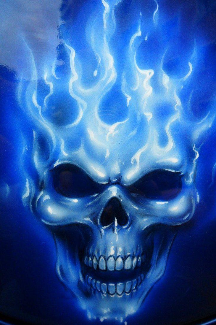 Flaming Skulls Wallpapers - Wallpaper Cave