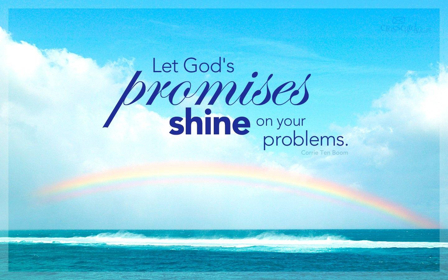 God's Promises Desktop Wallpaper - Free Backgrounds