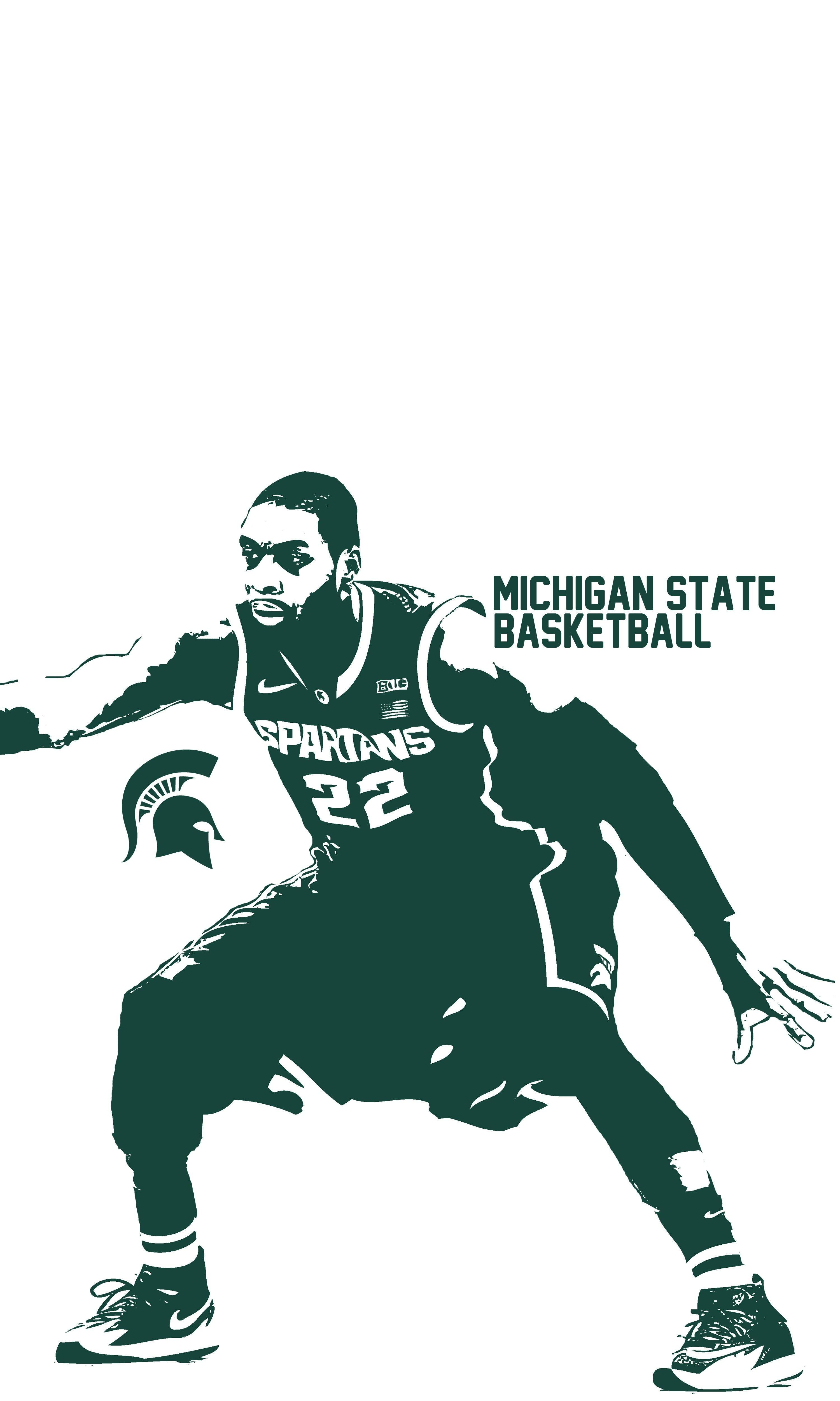 Michigan State Basketball Wallpapers Wallpaper Cave