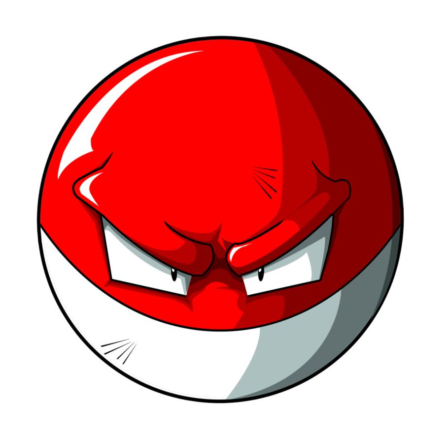 Voltorb PNG by unksoldier55