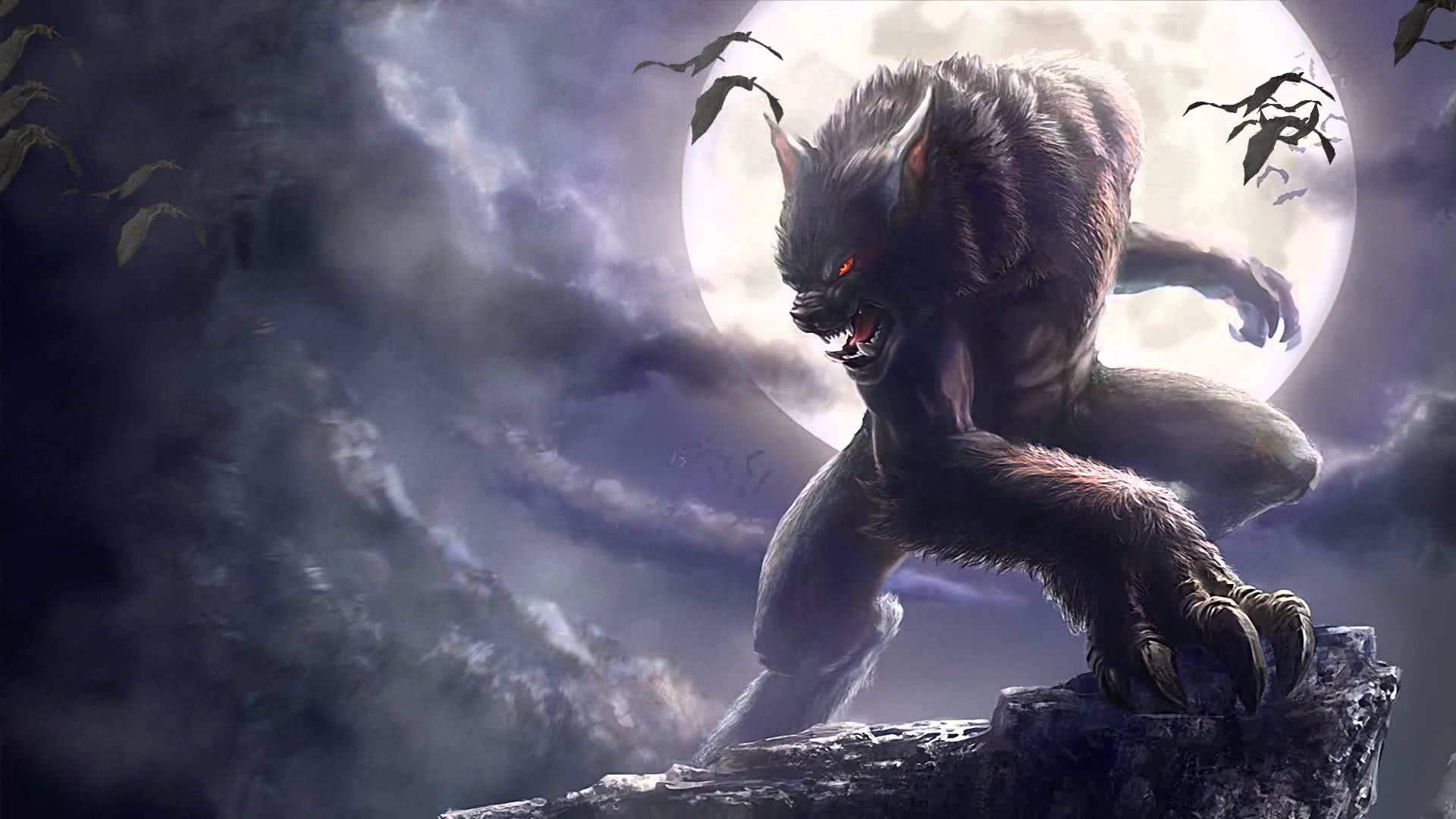 Werewolf Animated Wallpaper Desktopanimated