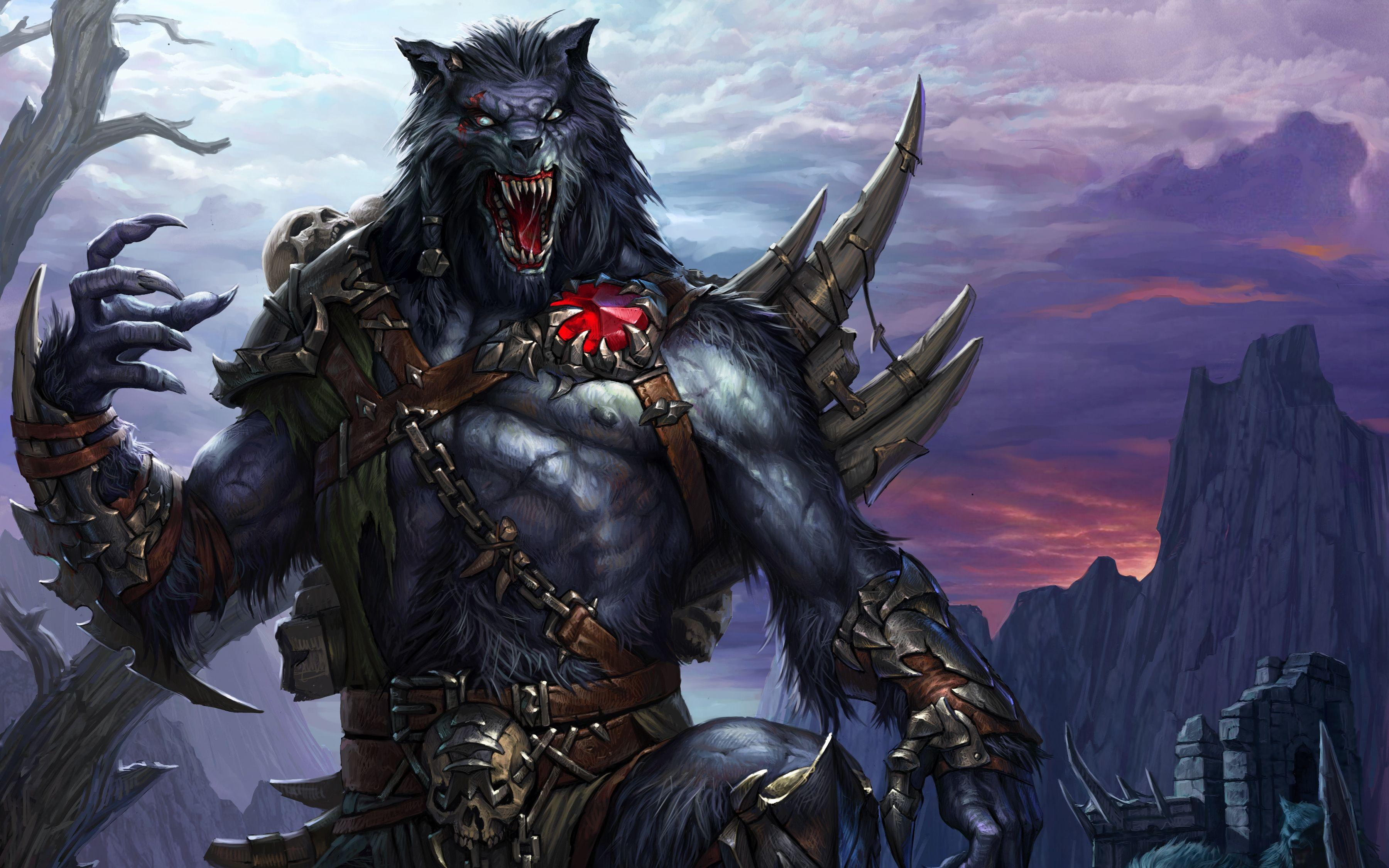 Werewolf Wallpaper For Android