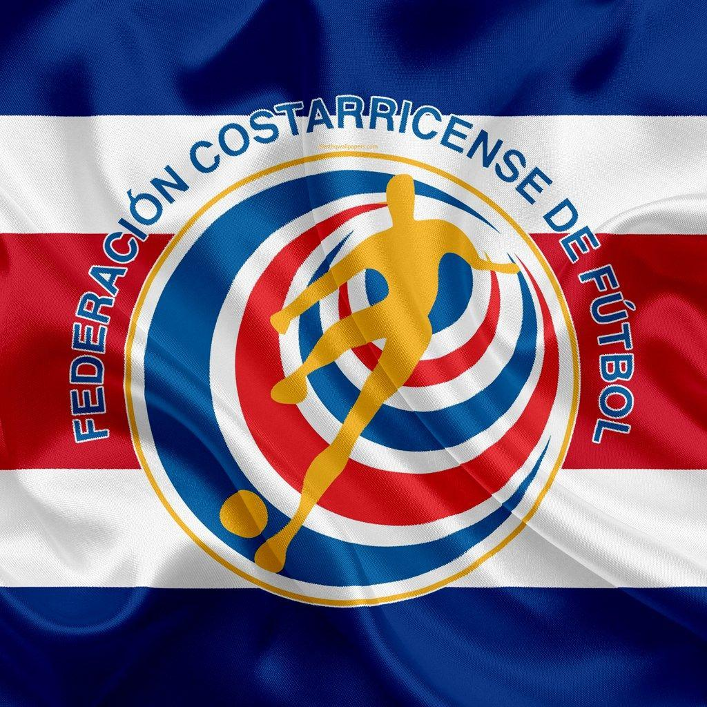 Download wallpapers Costa Rica national football team, logo