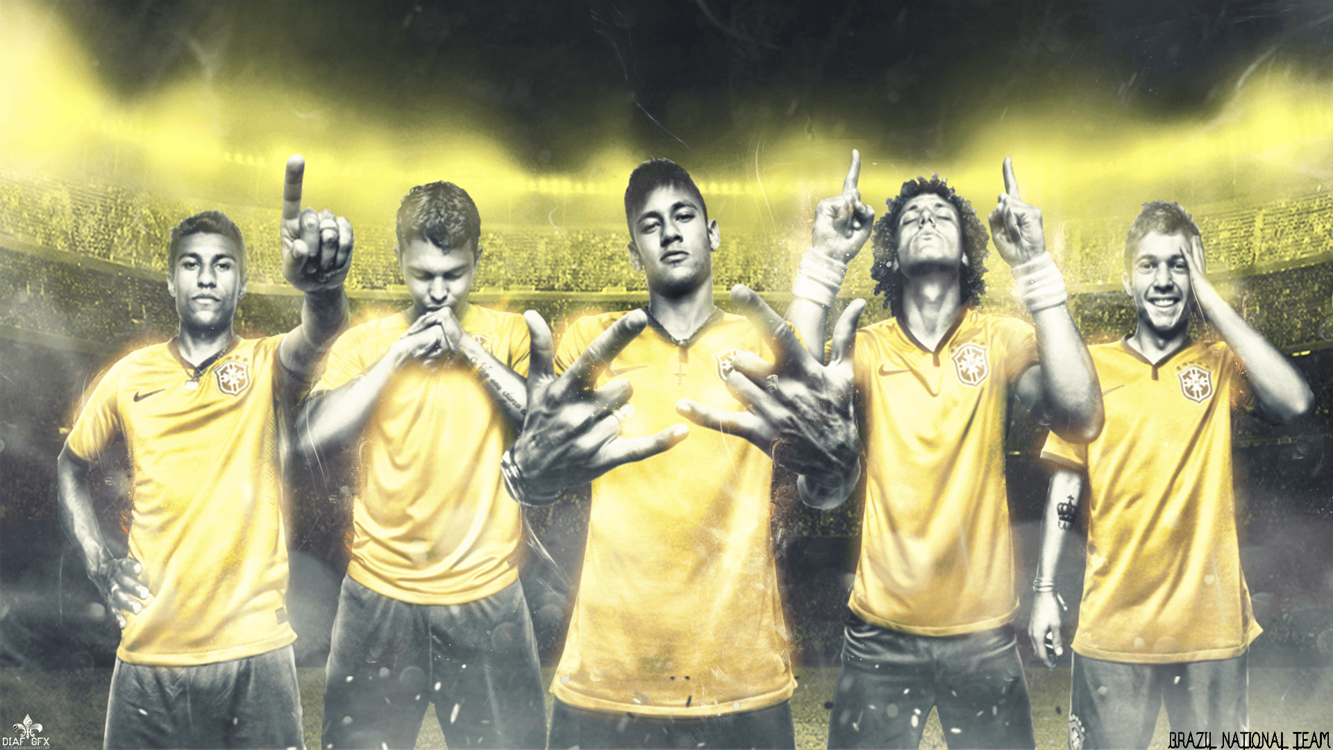 Brazil National Football Team Teams Background