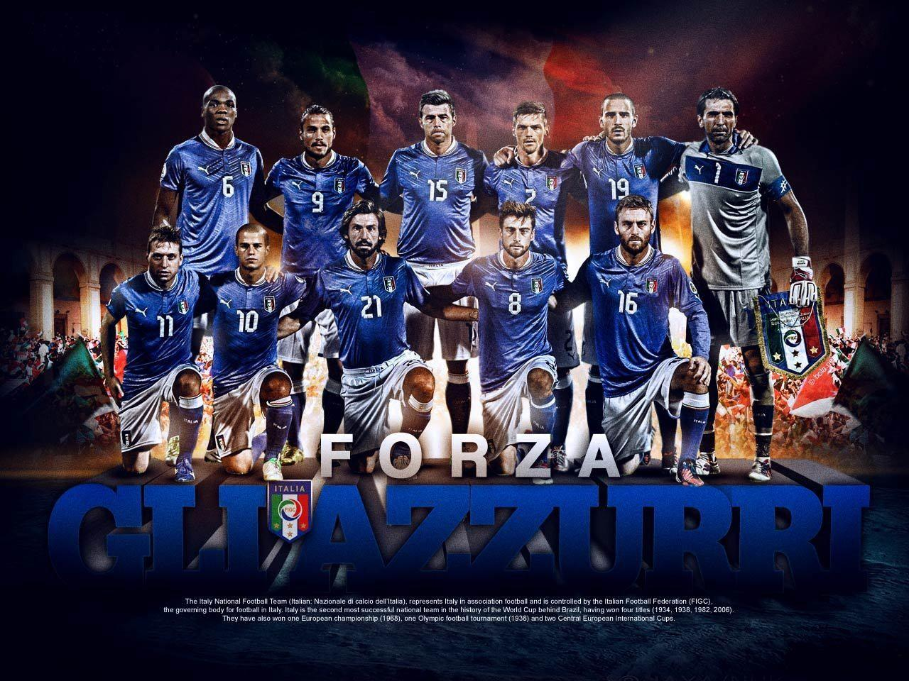 Italy National Football Team Zoom Background
